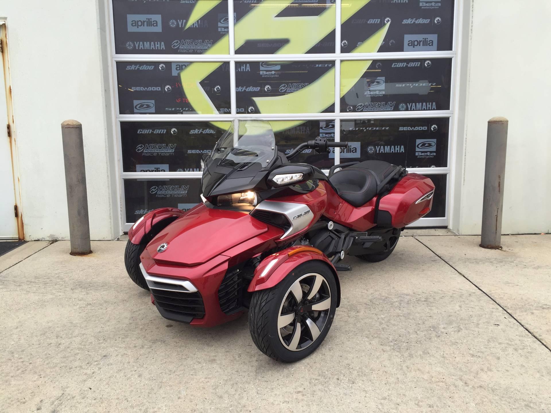 2016 Can-Am Spyder F3-T SE6 w/ Audio System in Grimes, Iowa