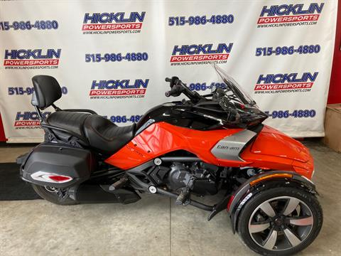 2015 Can-Am Spyder® F3-S SE6 in Grimes, Iowa - Photo 1
