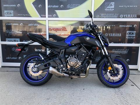 2018 Yamaha MT-07 in Grimes, Iowa