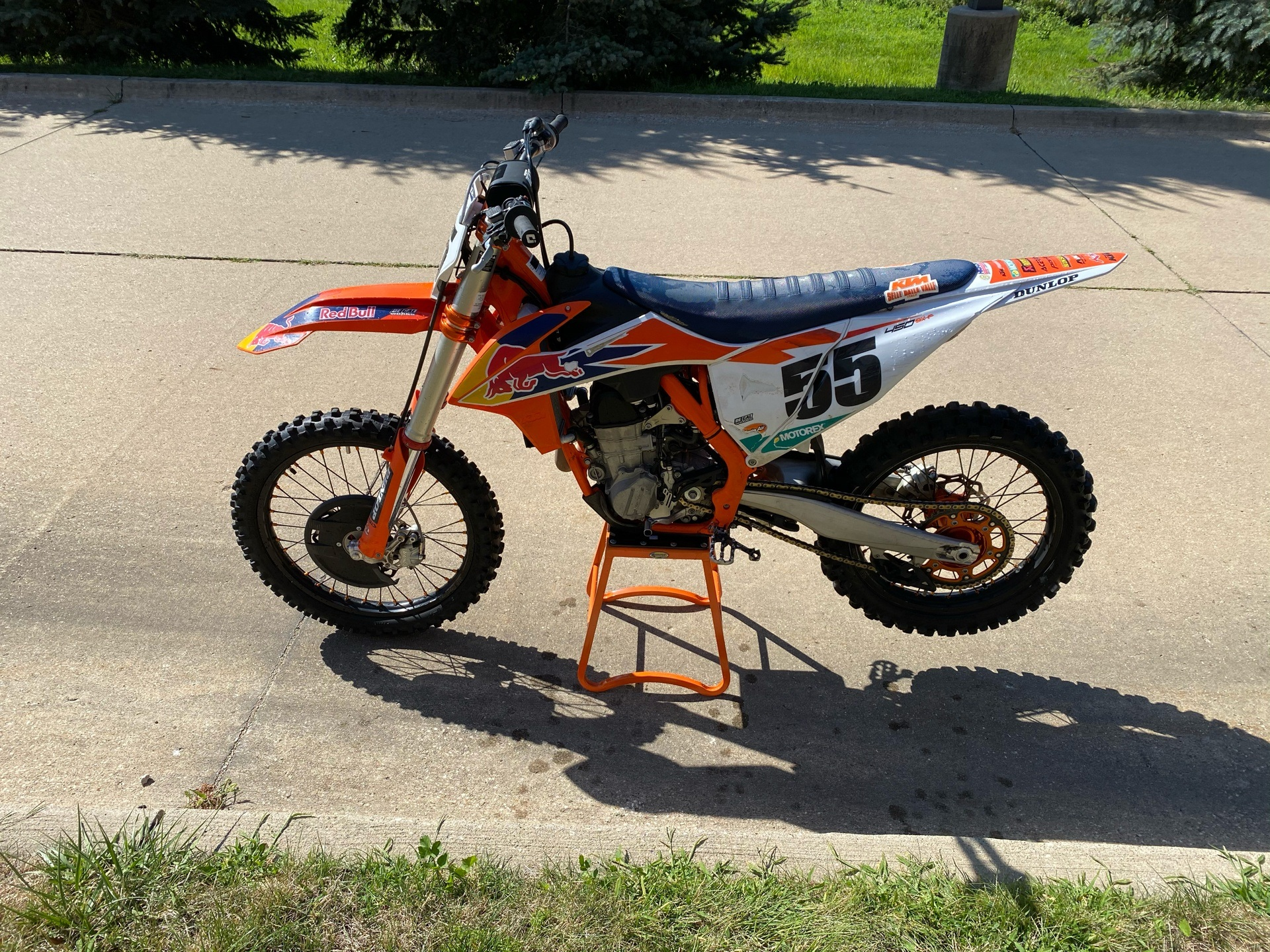 2019 KTM 450 SX-F Factory Edition in Grimes, Iowa - Photo 5