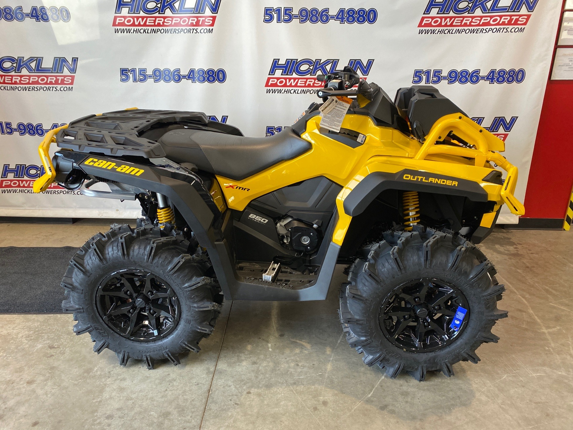 2021 Can-Am Outlander X MR 850 with Visco-4Lok in Grimes, Iowa - Photo 1