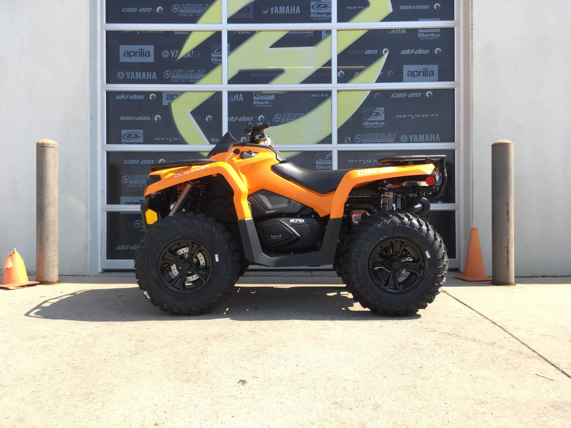 2018 Can-Am Outlander DPS 570 in Grimes, Iowa
