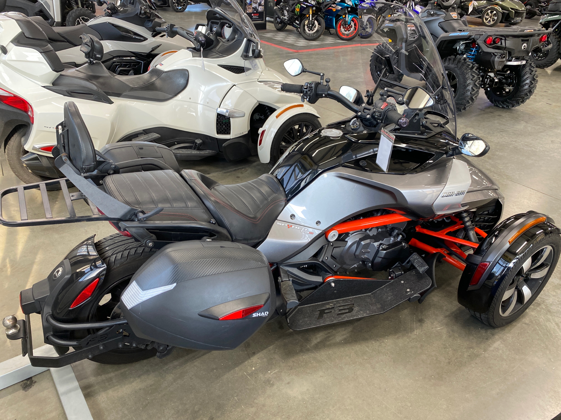 2015 Can-Am Spyder® F3-S SE6 in Grimes, Iowa - Photo 2