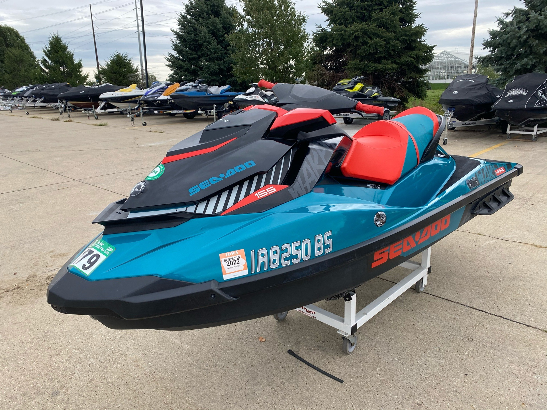 2018 Sea-Doo WAKE 155 in Grimes, Iowa - Photo 3
