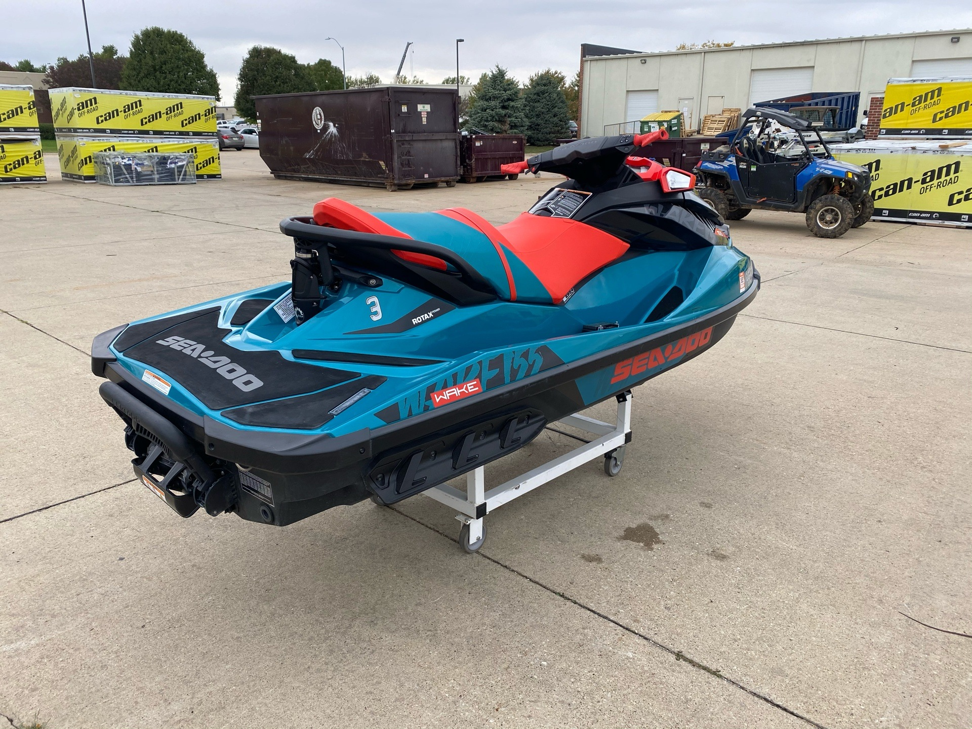 2018 Sea-Doo WAKE 155 in Grimes, Iowa - Photo 7