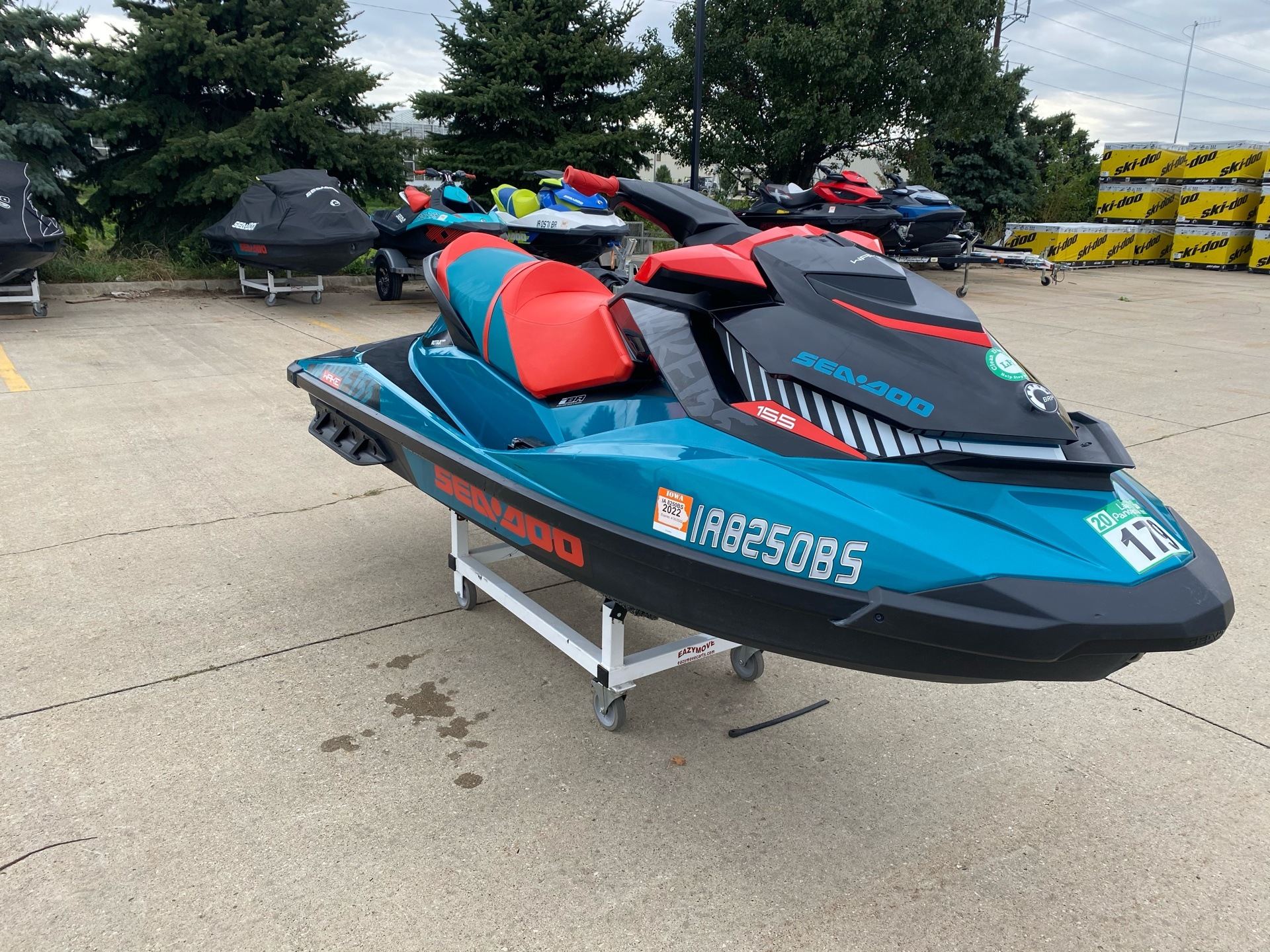 2018 Sea-Doo WAKE 155 in Grimes, Iowa - Photo 8