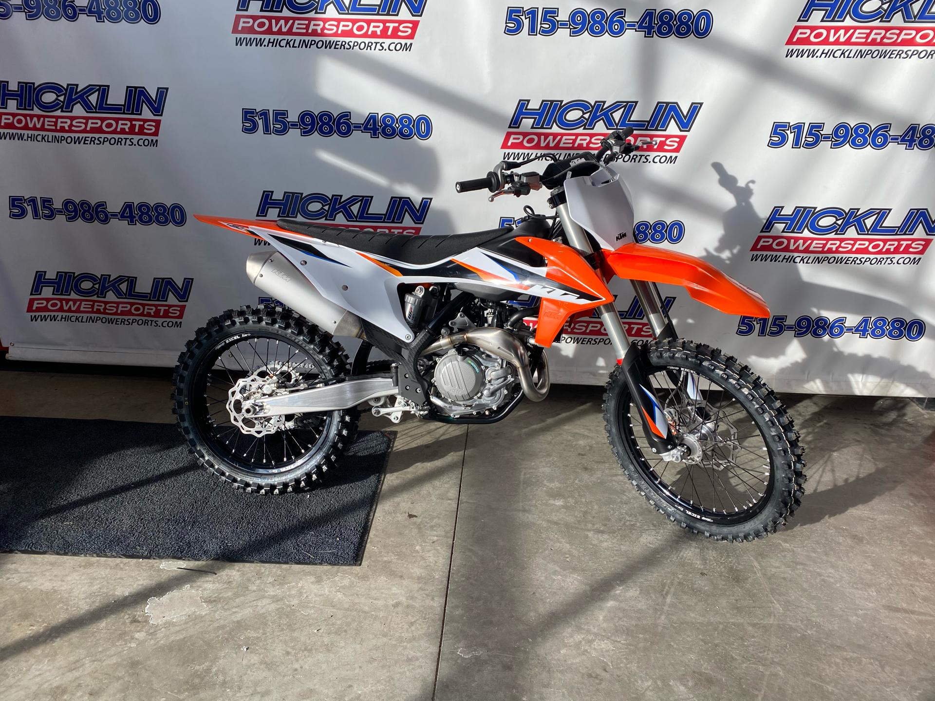 New 2021 Ktm 450 Sx F Orange 315275 Motorcycles In Grimes Ia