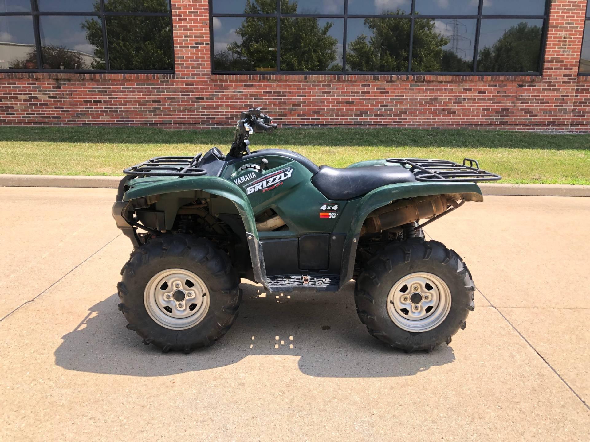 2008 Yamaha Grizzly 700 FI Auto  4x4 EPS in Grimes, Iowa