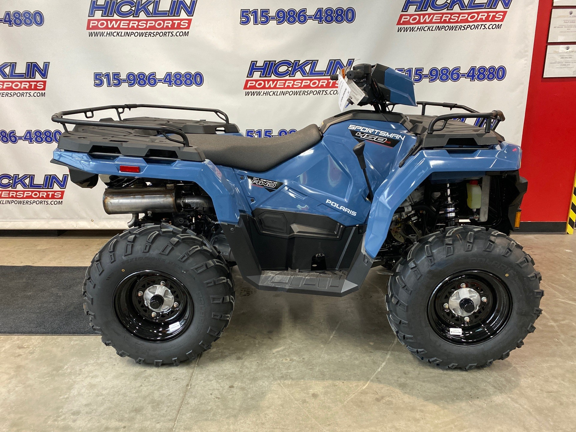 2021 Polaris Sportsman 450 H.O. EPS in Grimes, Iowa - Photo 1