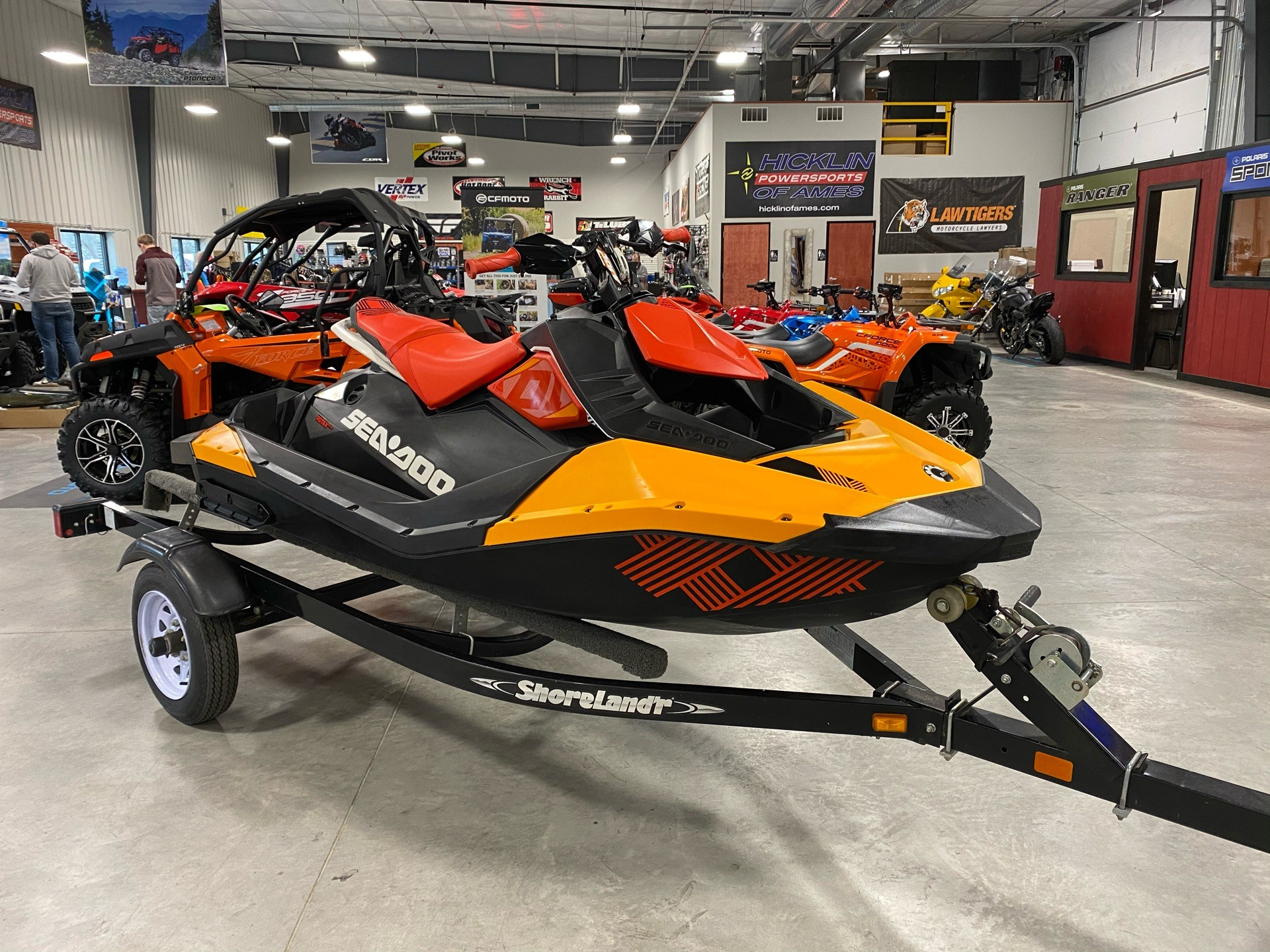 2018 Sea-Doo Spark Trixx 2up iBR in Ames, Iowa - Photo 1