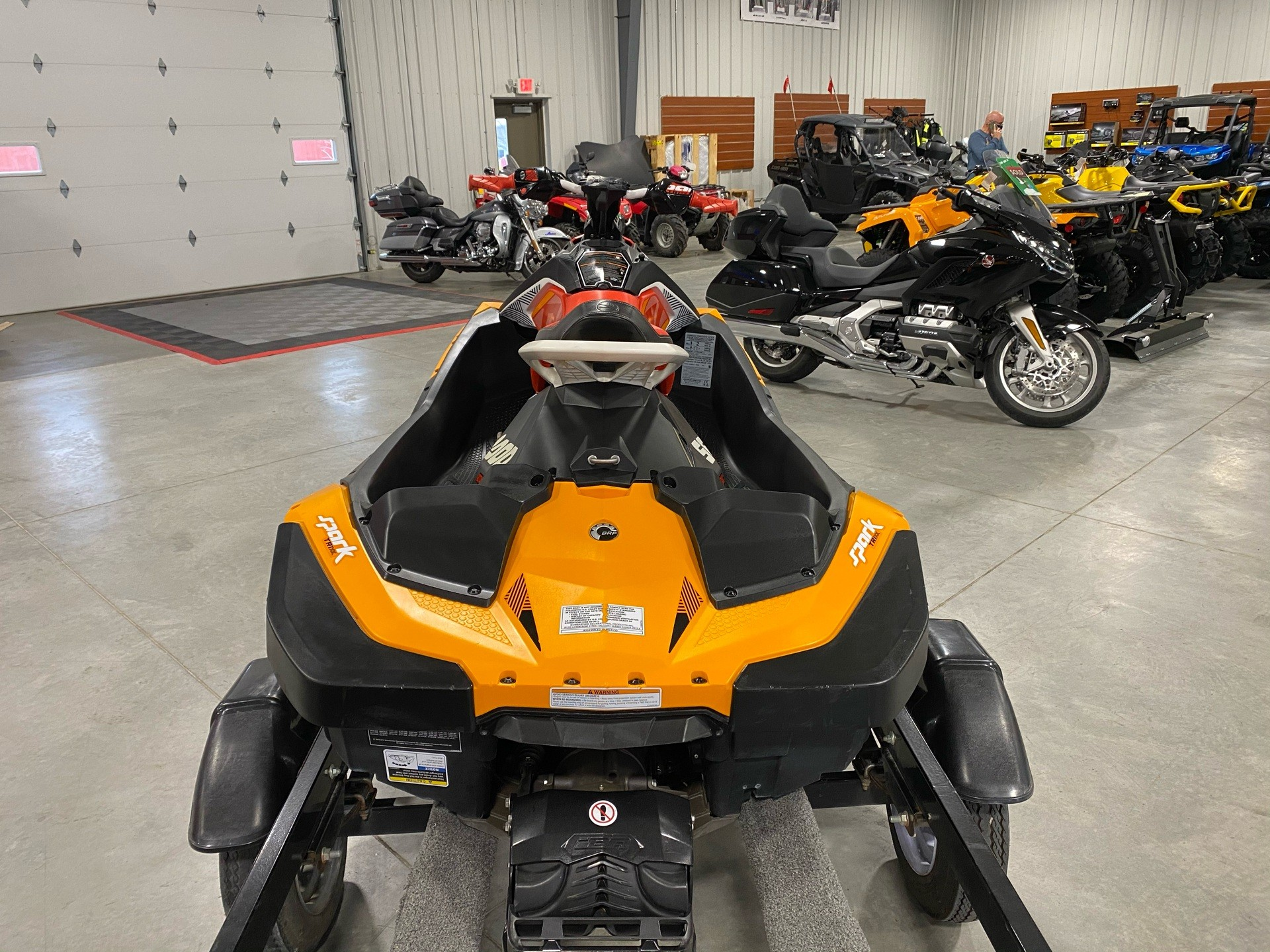 2018 Sea-Doo Spark Trixx 2up iBR in Ames, Iowa - Photo 4