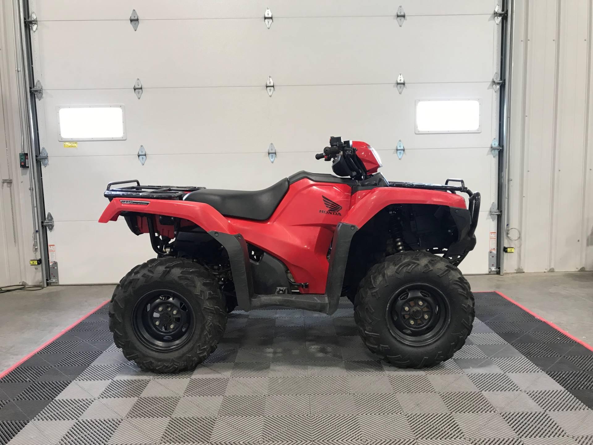 2017 Honda Fourtrax Foreman Rubicon 4x4 Eps In Ames Iowa