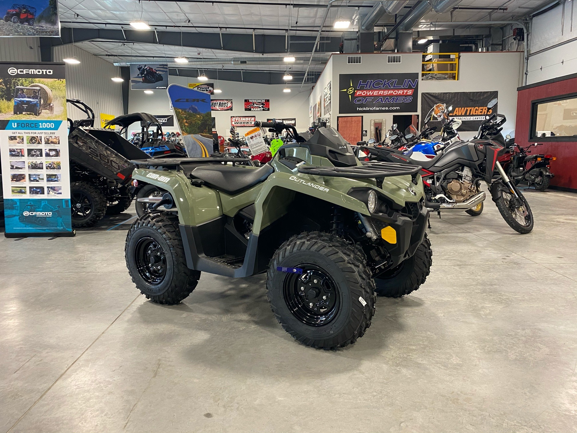 2020 Can-Am Outlander DPS 450 in Ames, Iowa - Photo 1