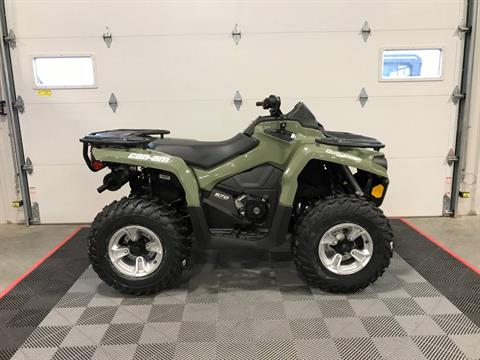 2019 Can-Am Outlander DPS 450 in Ames, Iowa