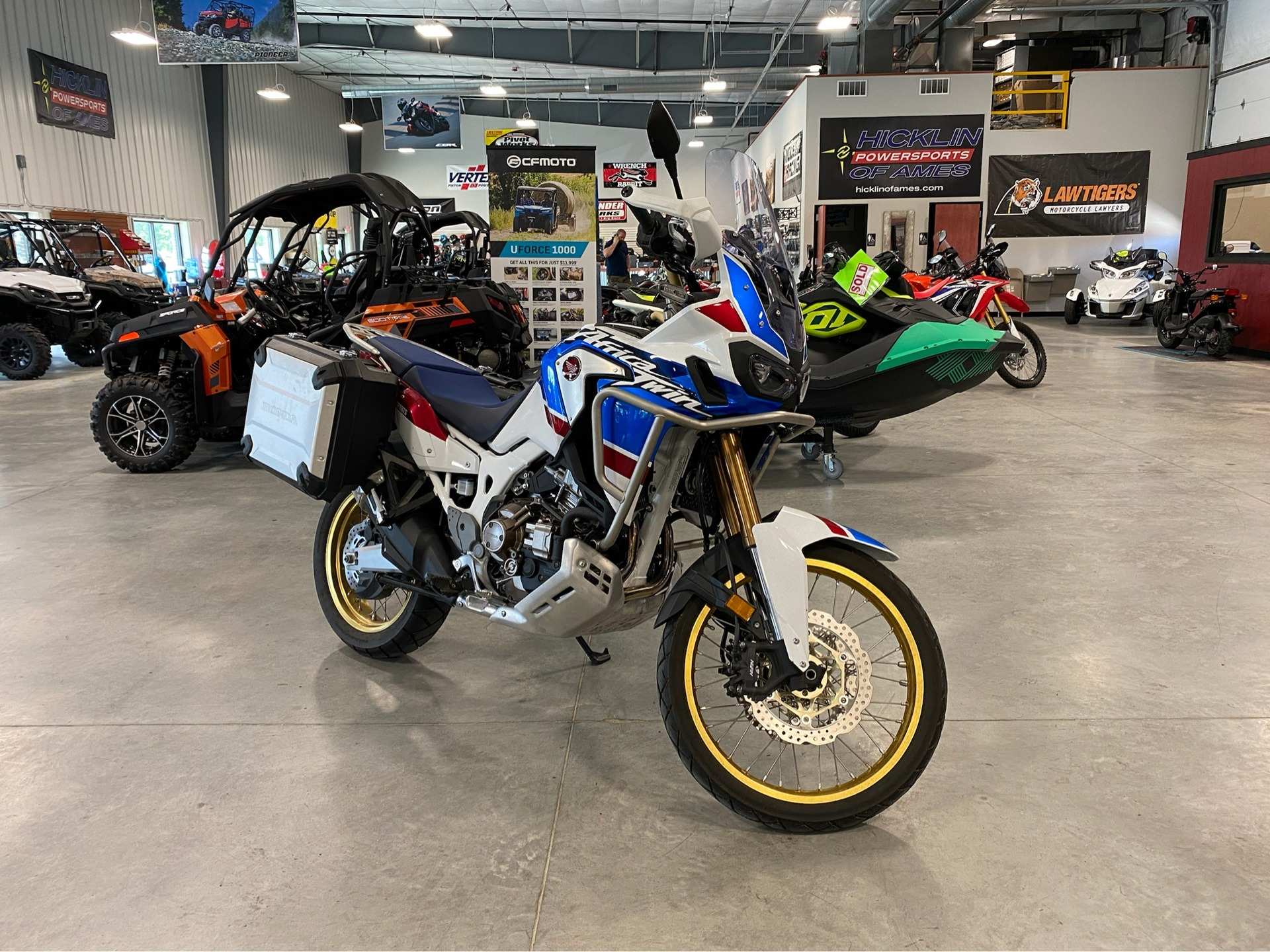 2018 Honda Africa Twin Adventure Sports DCT in Ames, Iowa - Photo 1