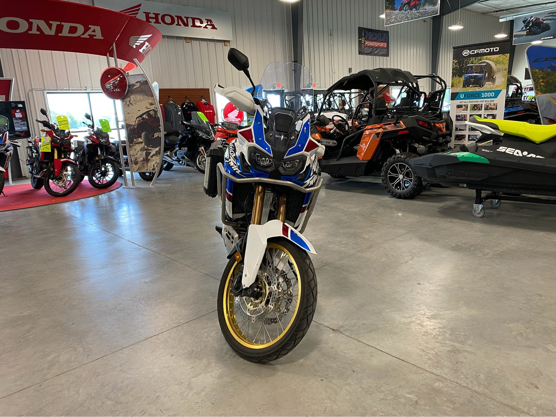 2018 Honda Africa Twin Adventure Sports DCT in Ames, Iowa - Photo 2
