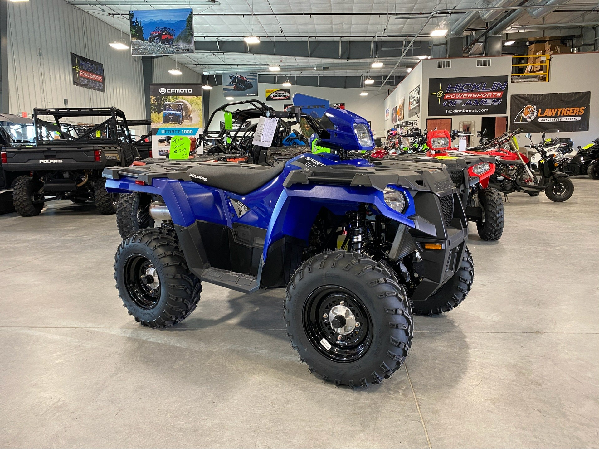 2020 Polaris Sportsman 450 H.O. in Ames, Iowa - Photo 1
