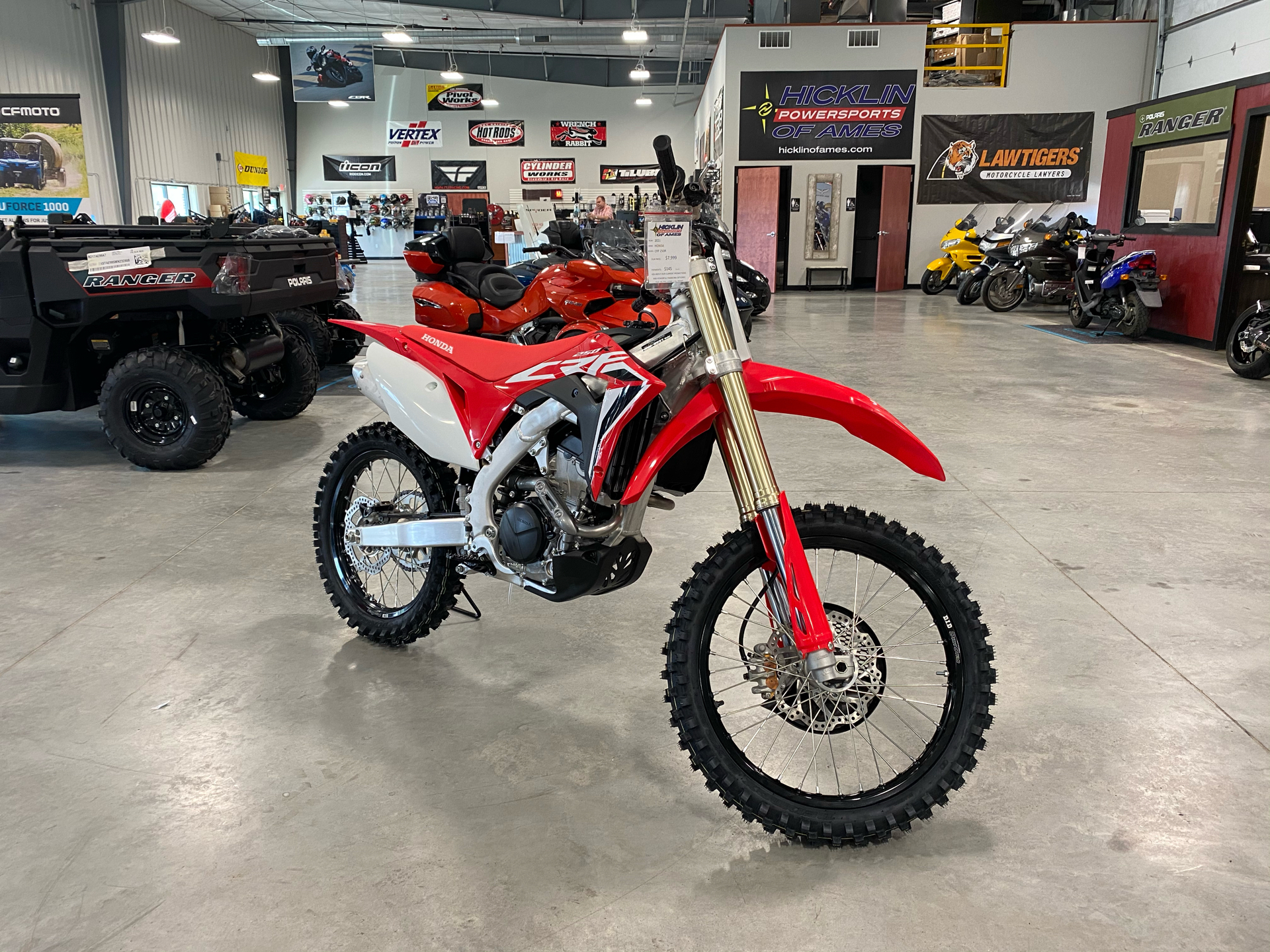 2021 Honda CRF250R in Ames, Iowa - Photo 1