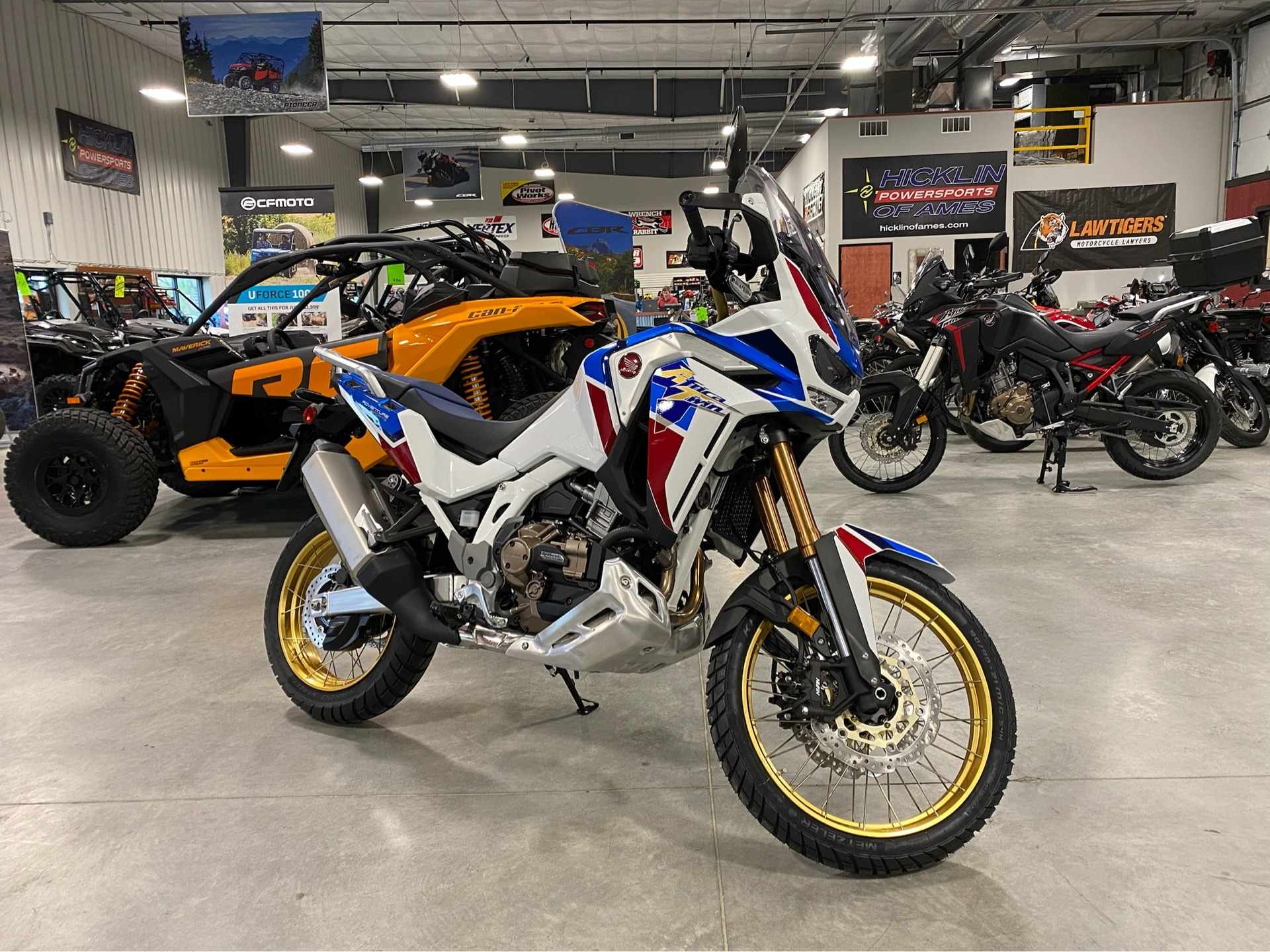 2020 Honda Africa Twin Adventure Sports ES DCT in Ames, Iowa - Photo 1