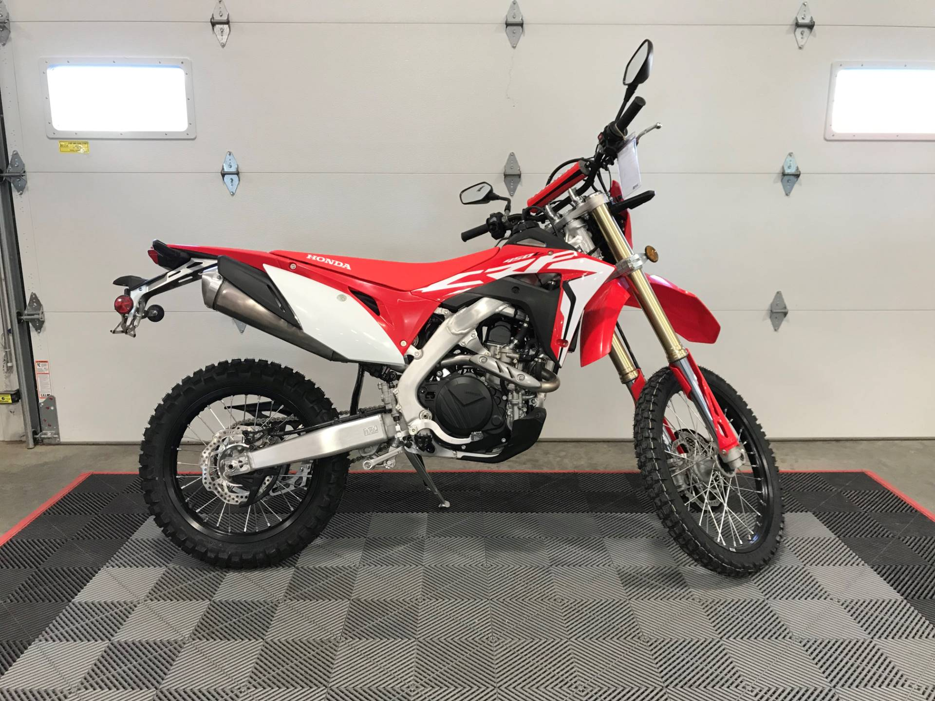 New 2019 Honda Crf450l Motorcycles In Ames Ia Stock Number 001415