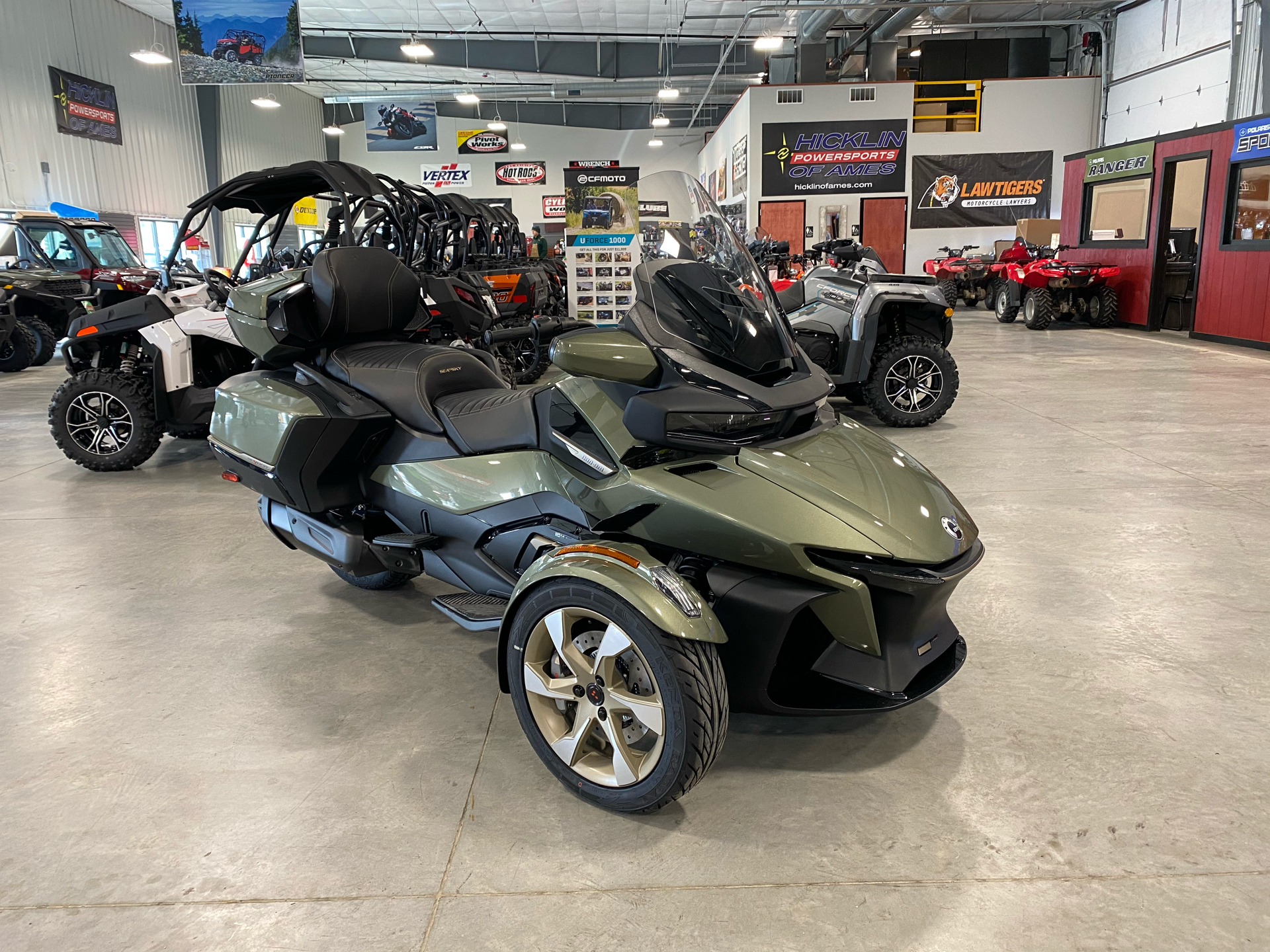 2021 Can-Am Spyder RT Sea-to-Sky in Ames, Iowa - Photo 1