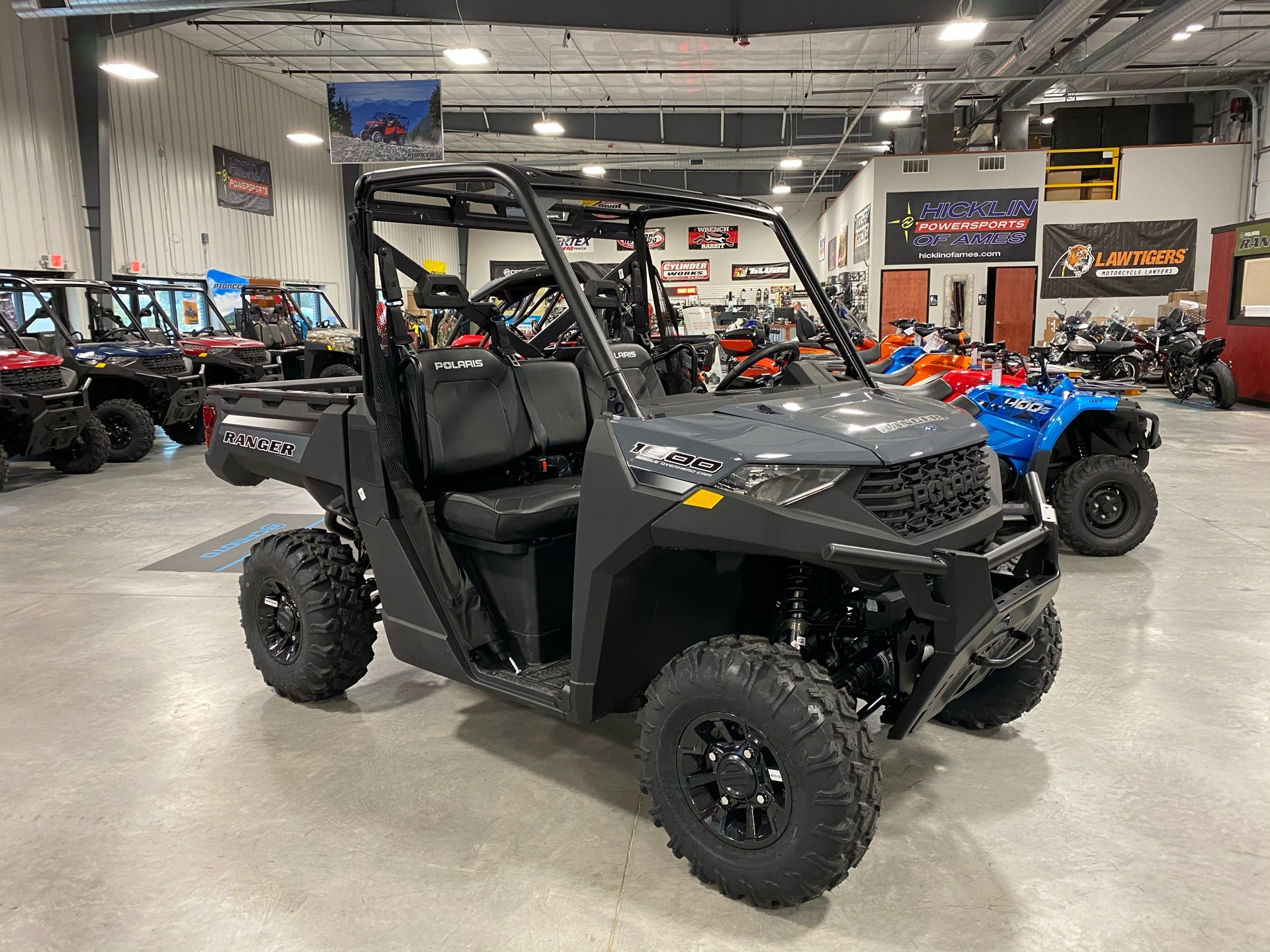2021 Polaris Ranger 1000 Premium in Ames, Iowa - Photo 1