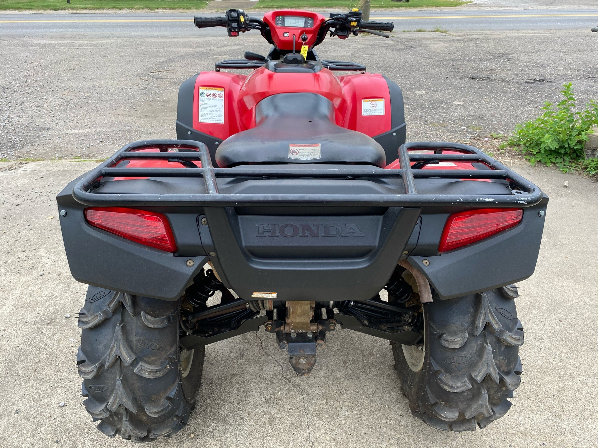2015 Honda FourTrax® Rincon® 4x4 in New Martinsville, West Virginia - Photo 4