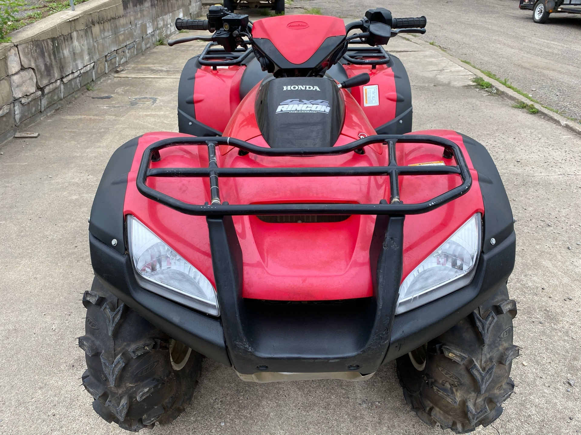 2015 Honda FourTrax® Rincon® 4x4 in New Martinsville, West Virginia - Photo 8