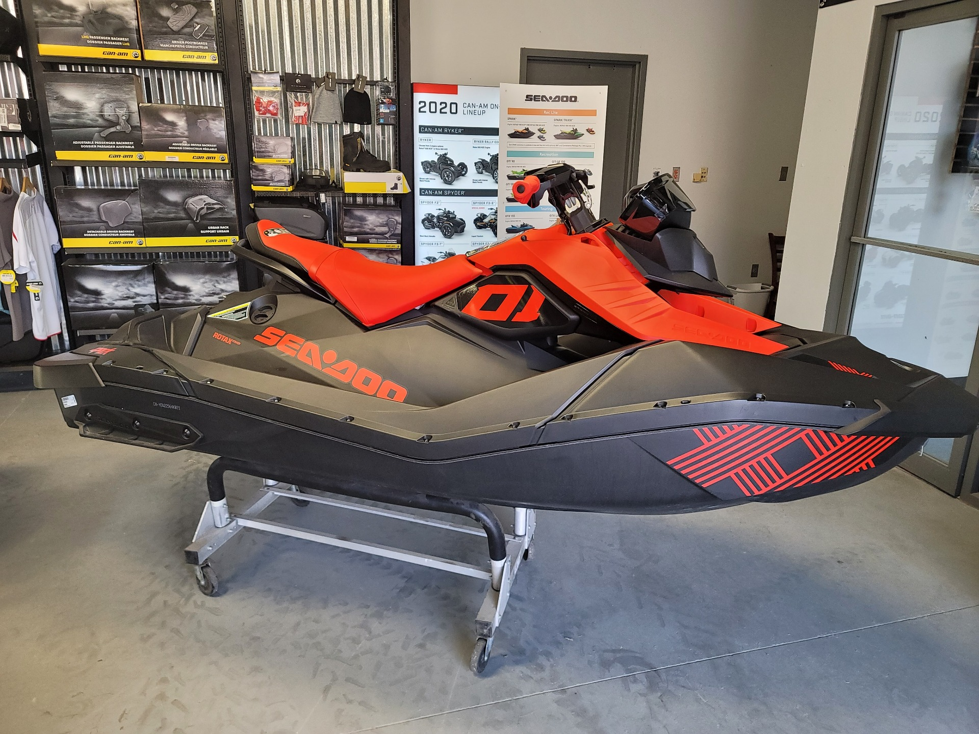 2021 Sea-Doo Spark Trixx 2up iBR + Sound System in Barboursville, West Virginia - Photo 2