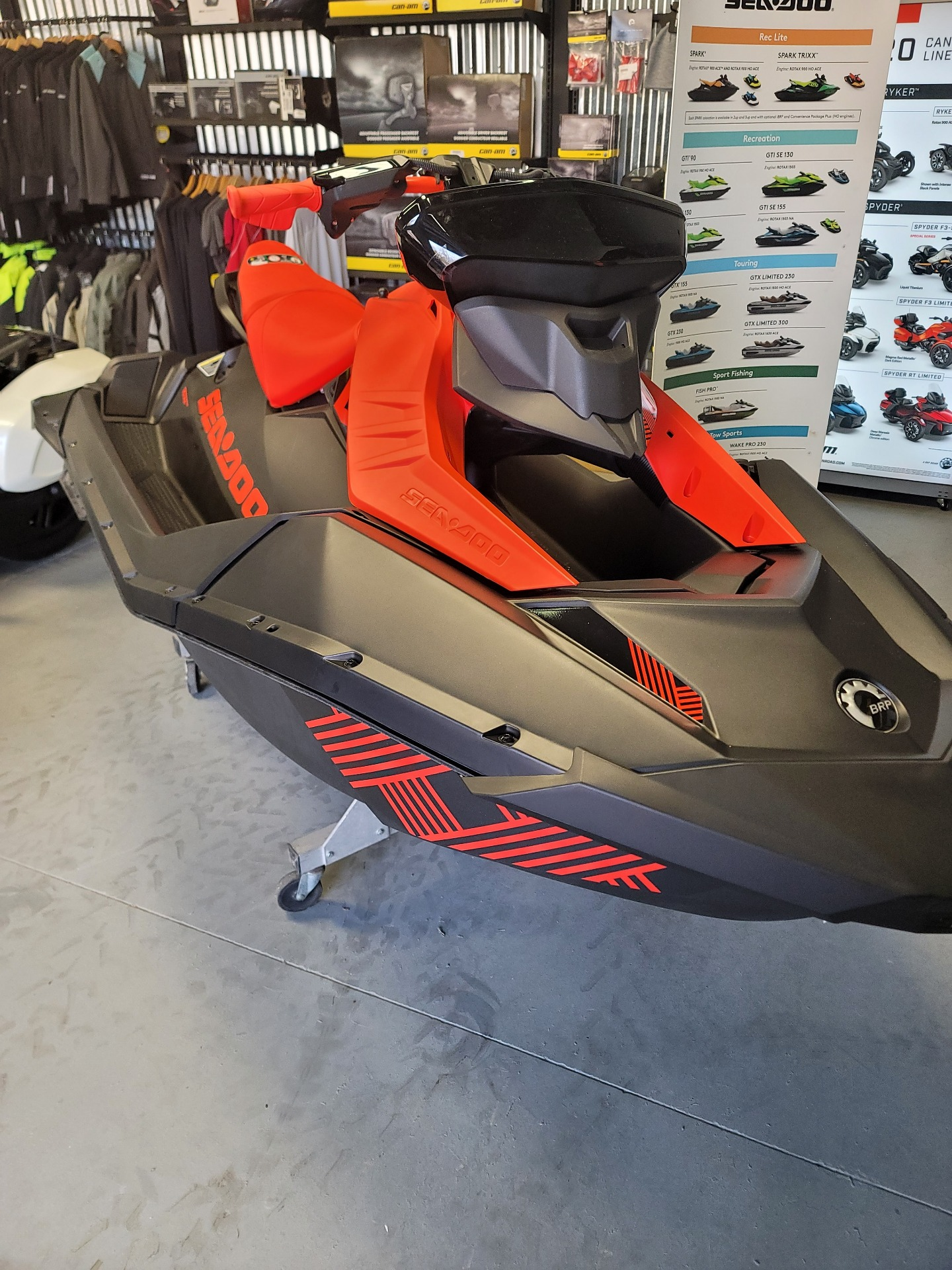 2021 Sea-Doo Spark Trixx 2up iBR + Sound System in Barboursville, West Virginia - Photo 5