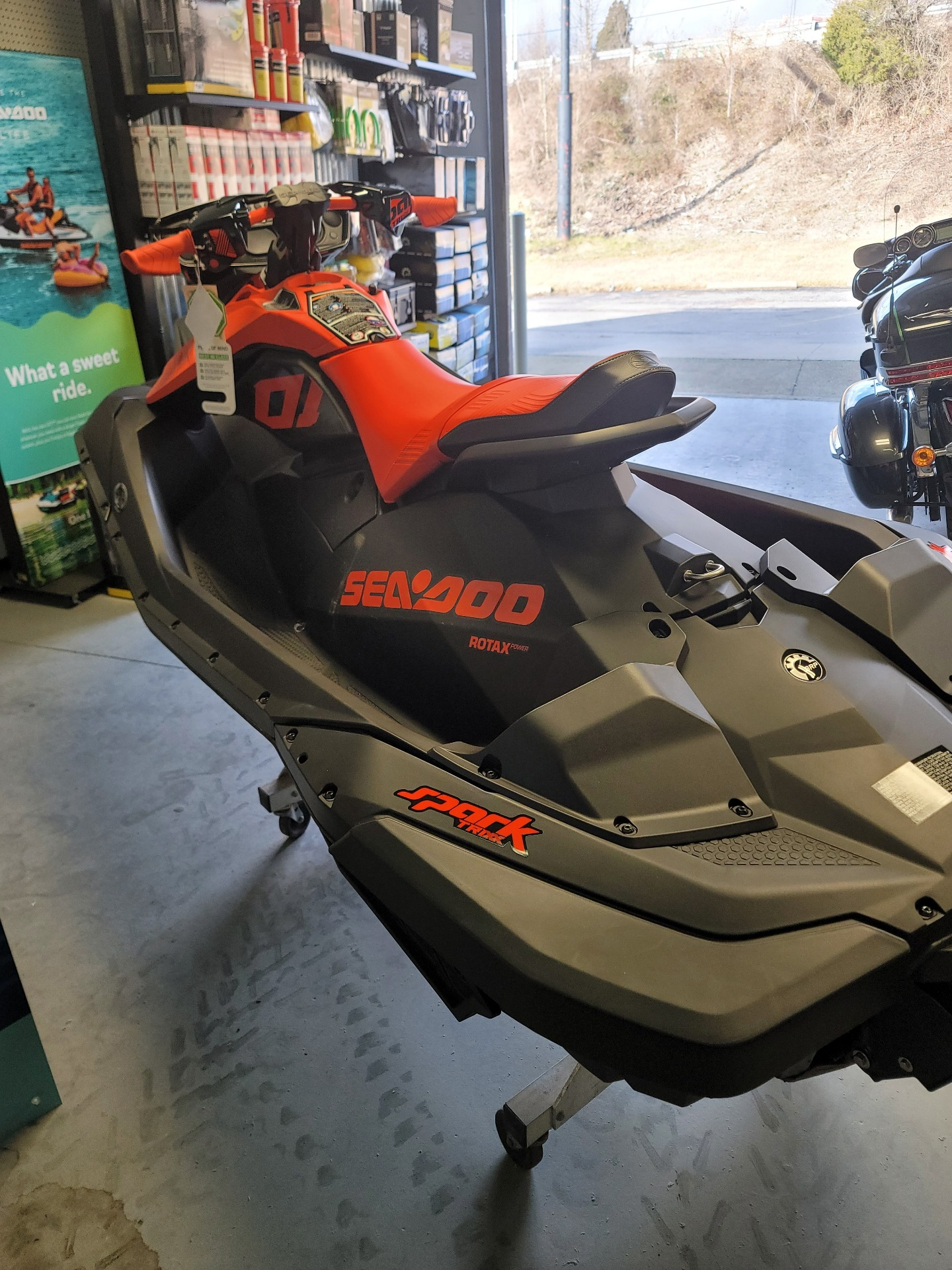 2021 Sea-Doo Spark Trixx 2up iBR + Sound System in Barboursville, West Virginia - Photo 7