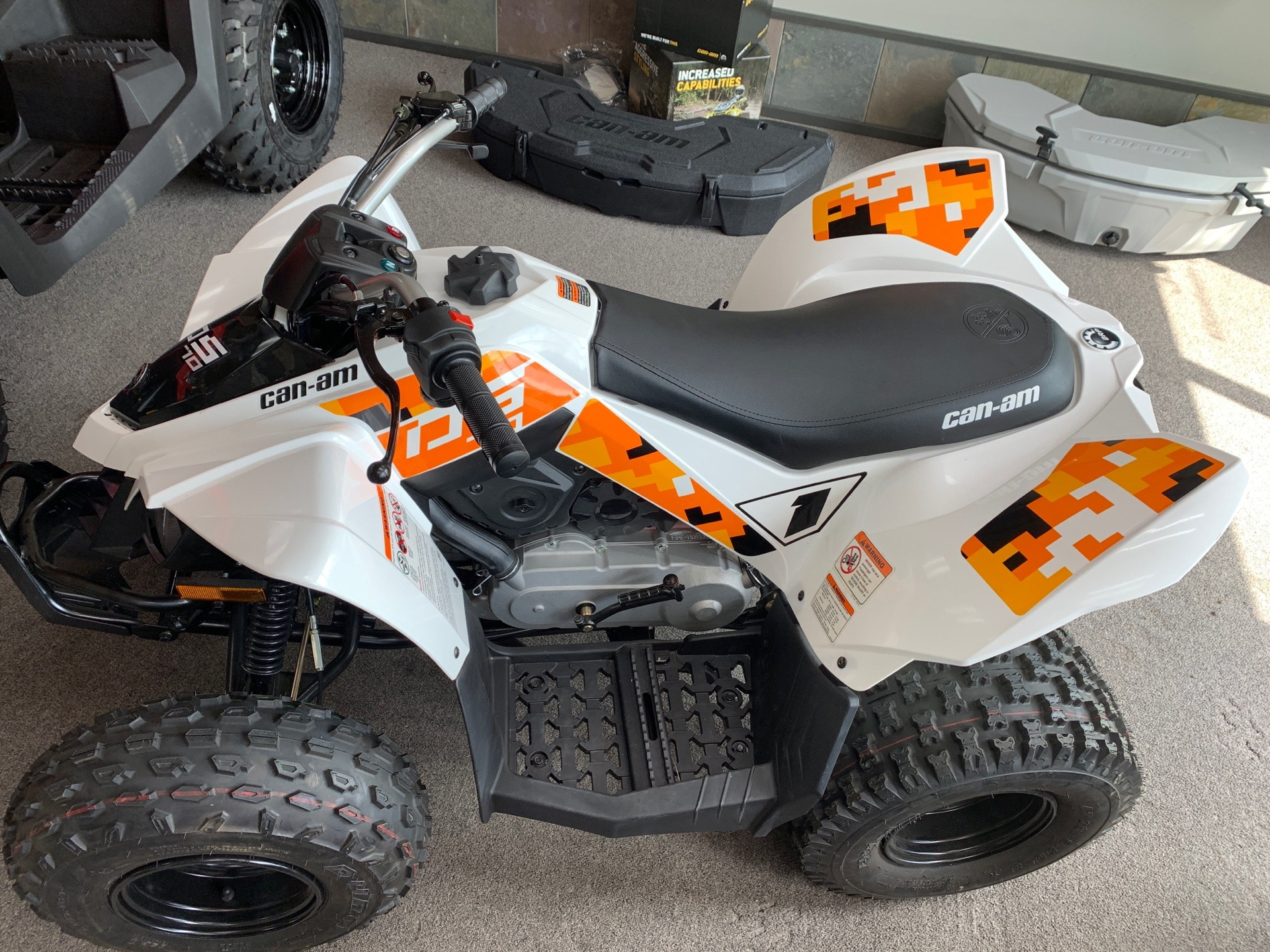 2019 Can-Am DS 70 in Mineral Wells, West Virginia