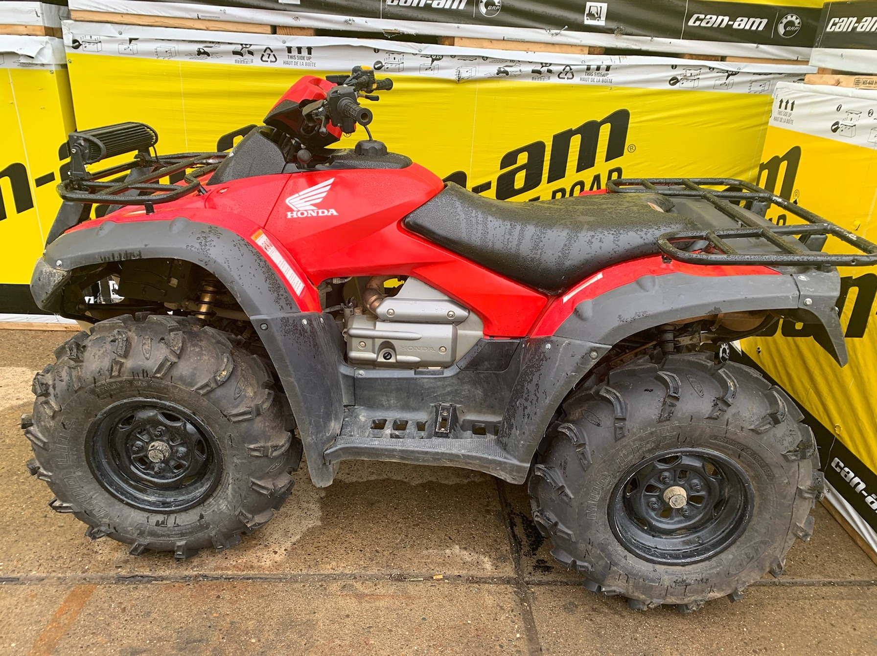 2015 Honda FourTrax® Rincon® 4x4 in Mineral Wells, West Virginia - Photo 1