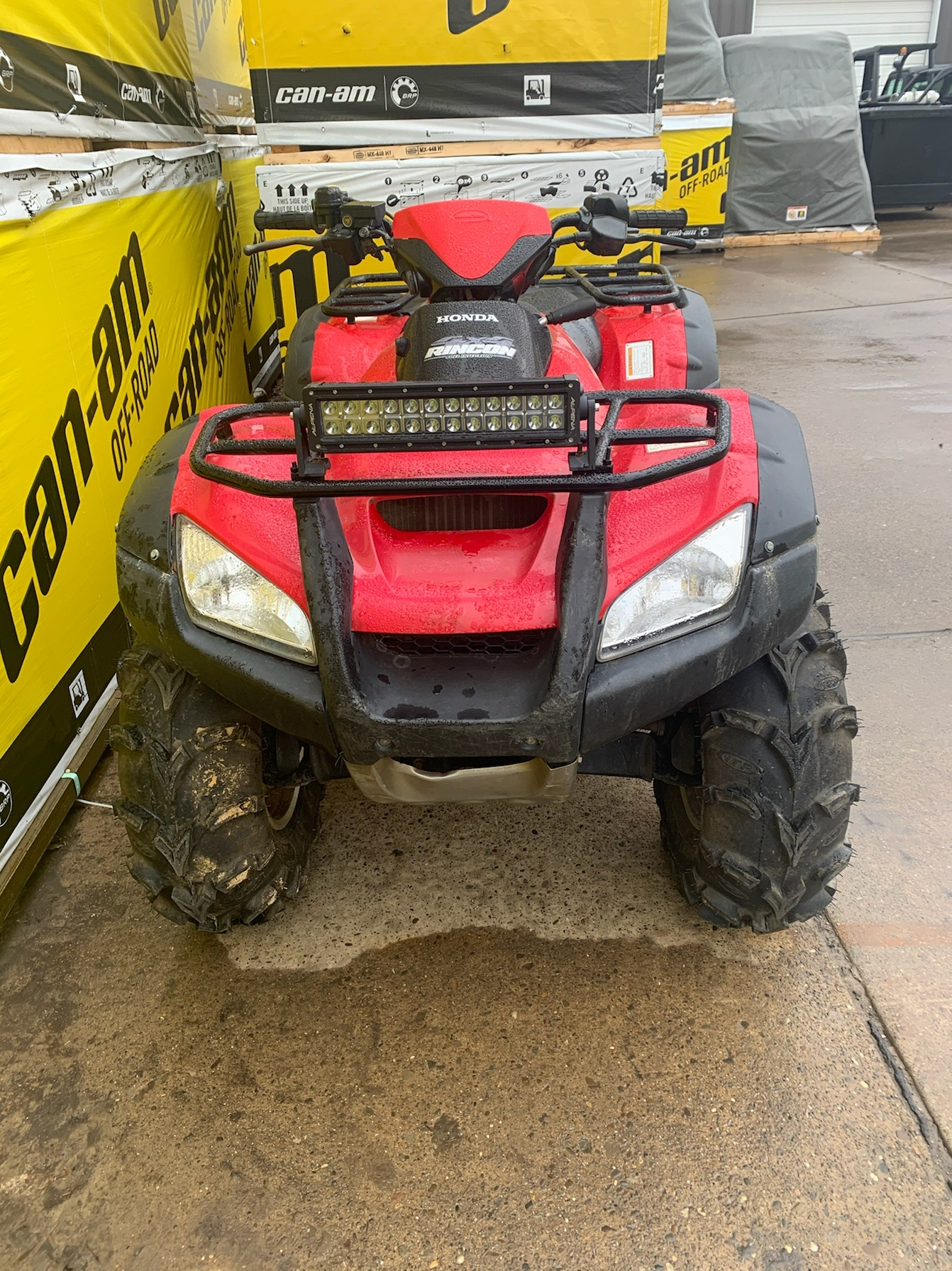 2015 Honda FourTrax® Rincon® 4x4 in Mineral Wells, West Virginia - Photo 3