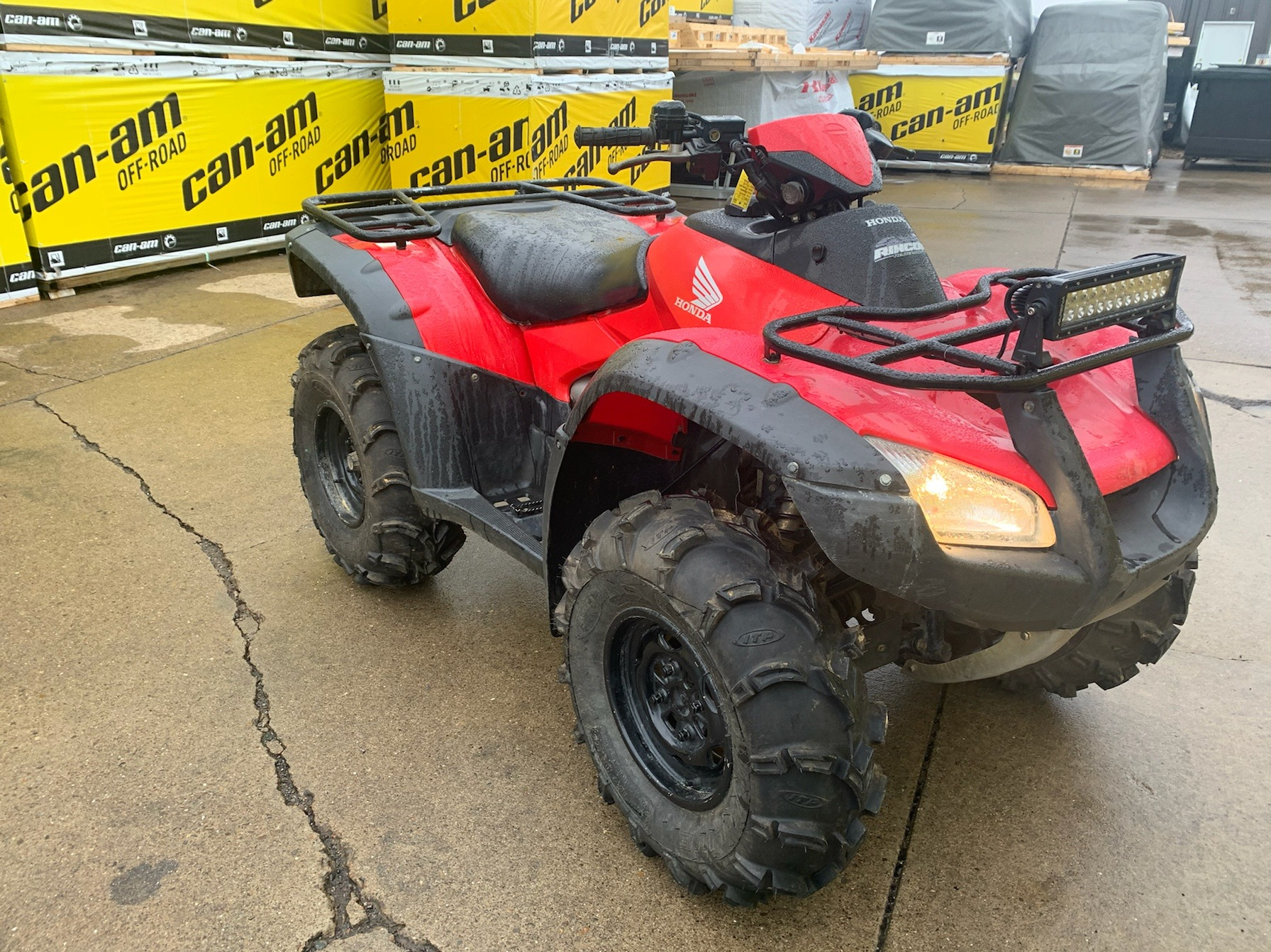 2015 Honda FourTrax® Rincon® 4x4 in Mineral Wells, West Virginia - Photo 5