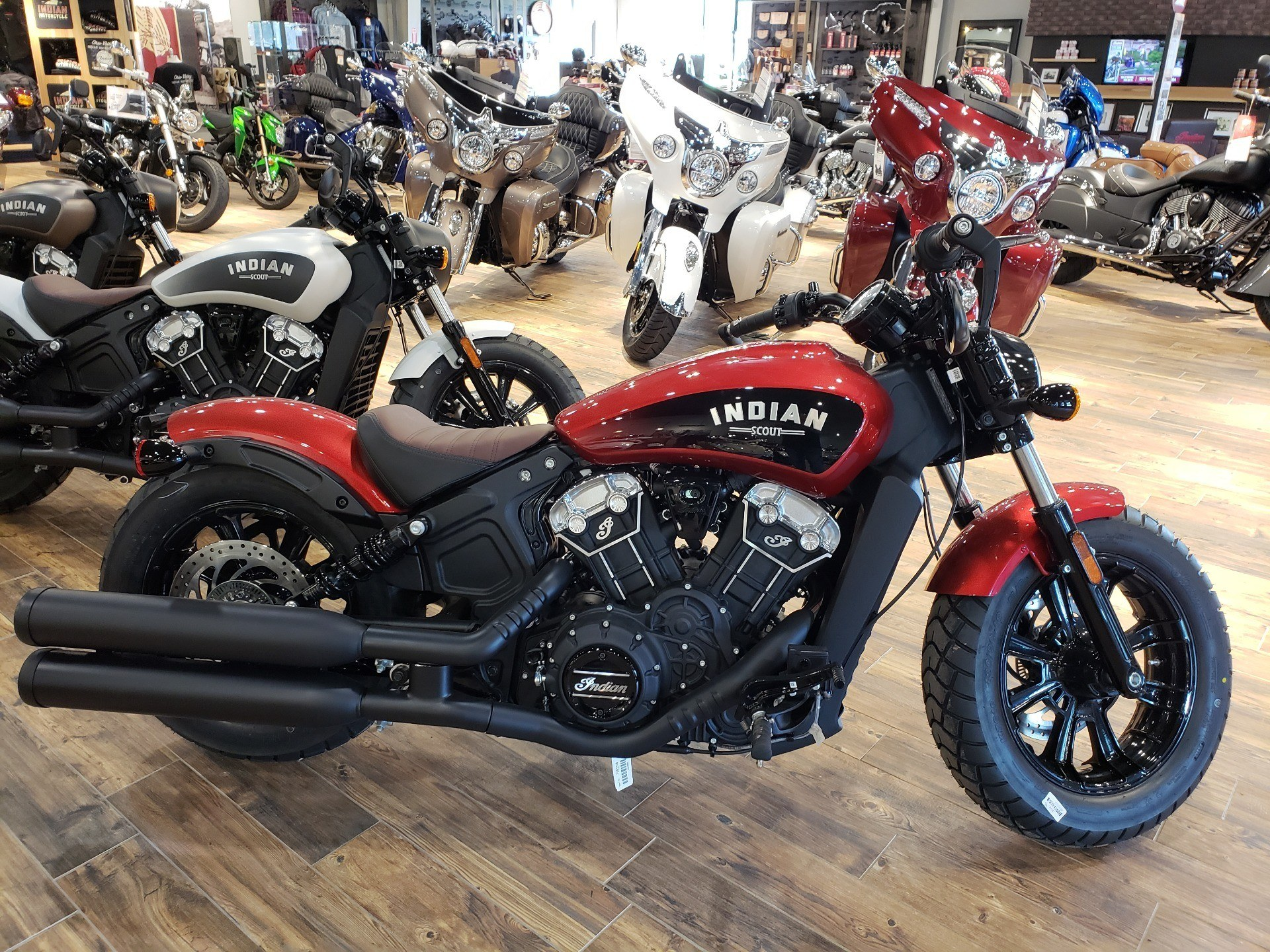 2019 Indian Scout® Bobber ABS Icon Series in Mineral Wells, West Virginia - Photo 5