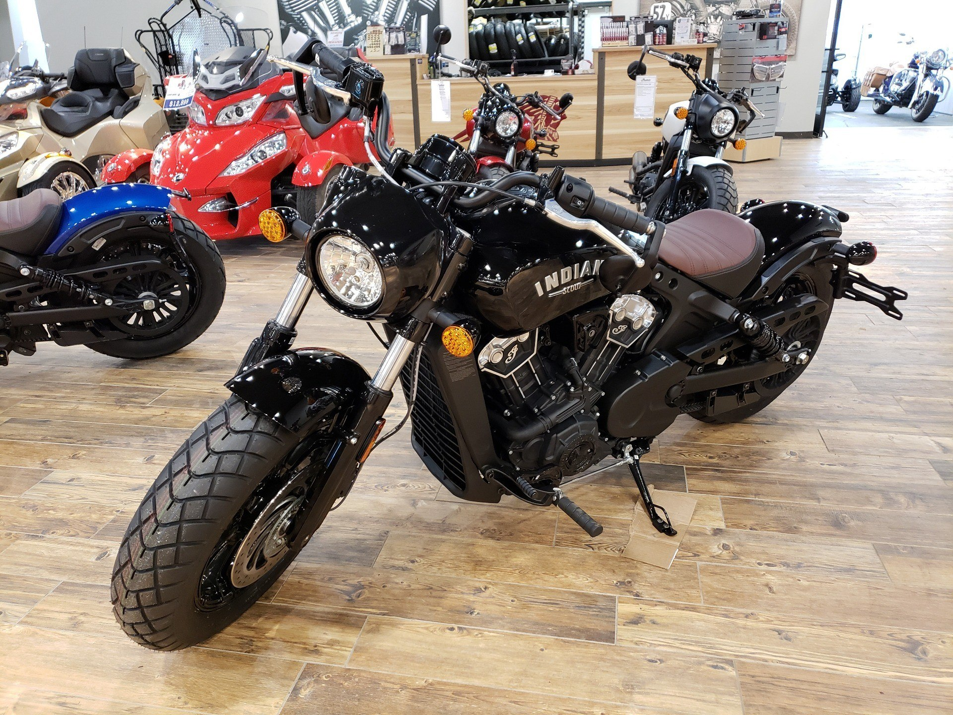 2019 Indian Scout® Bobber ABS in Mineral Wells, West Virginia - Photo 1