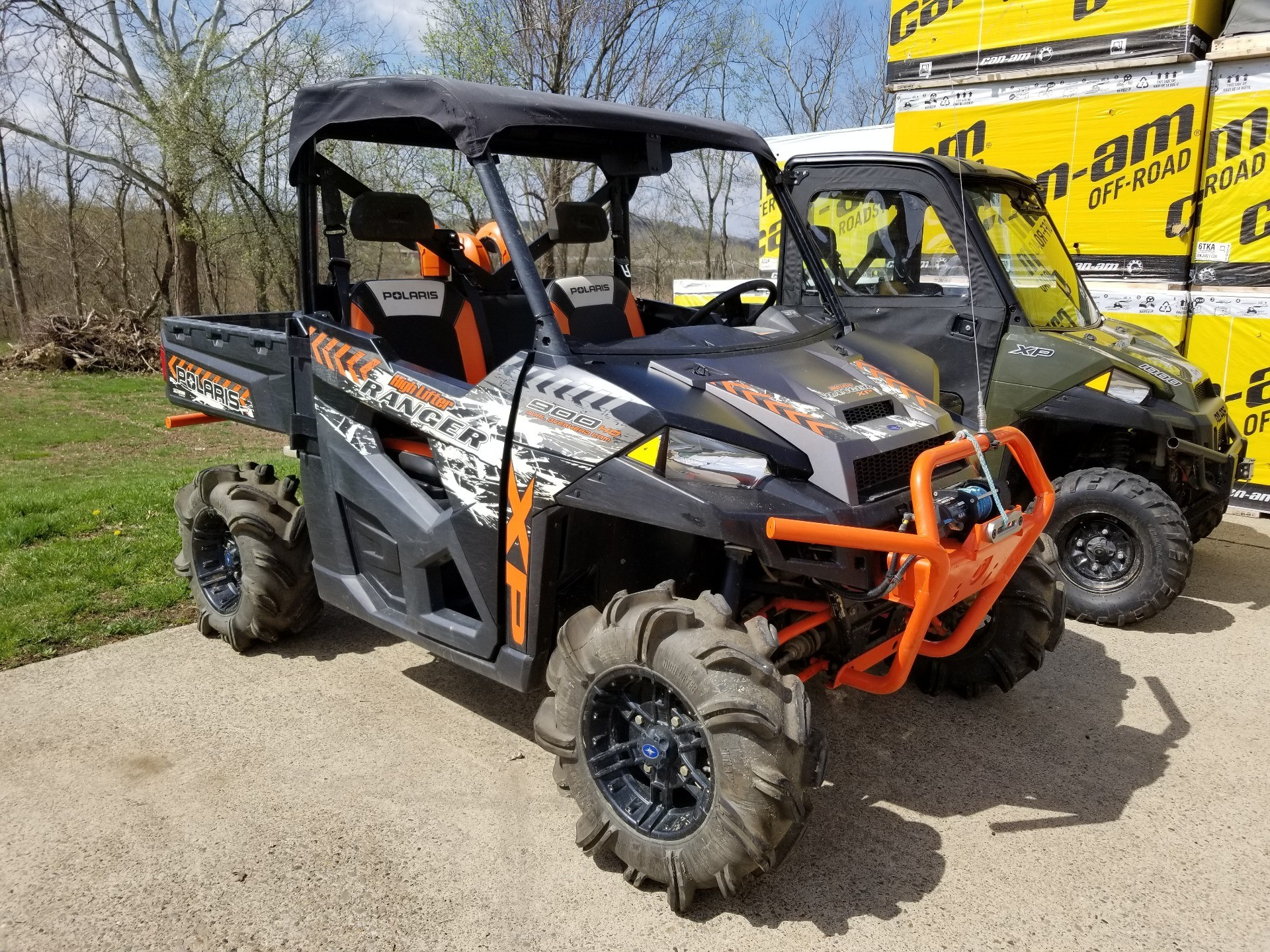 2016 Polaris Ranger Xp 900 Eps High Lifter Edition In Mineral Wells West Virginia