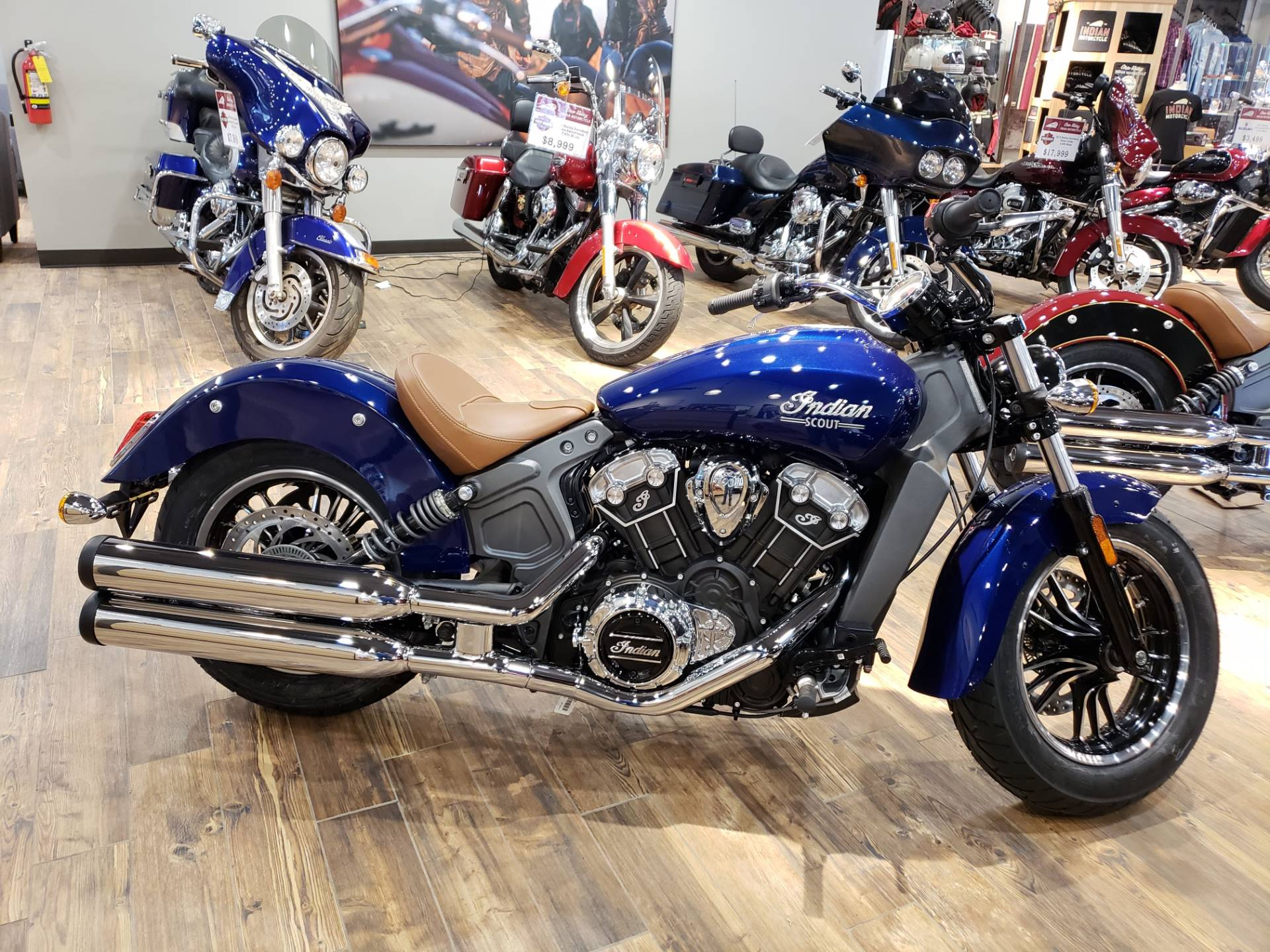 new 2019 indian scout® abs deep water metallic | motorcycles in west