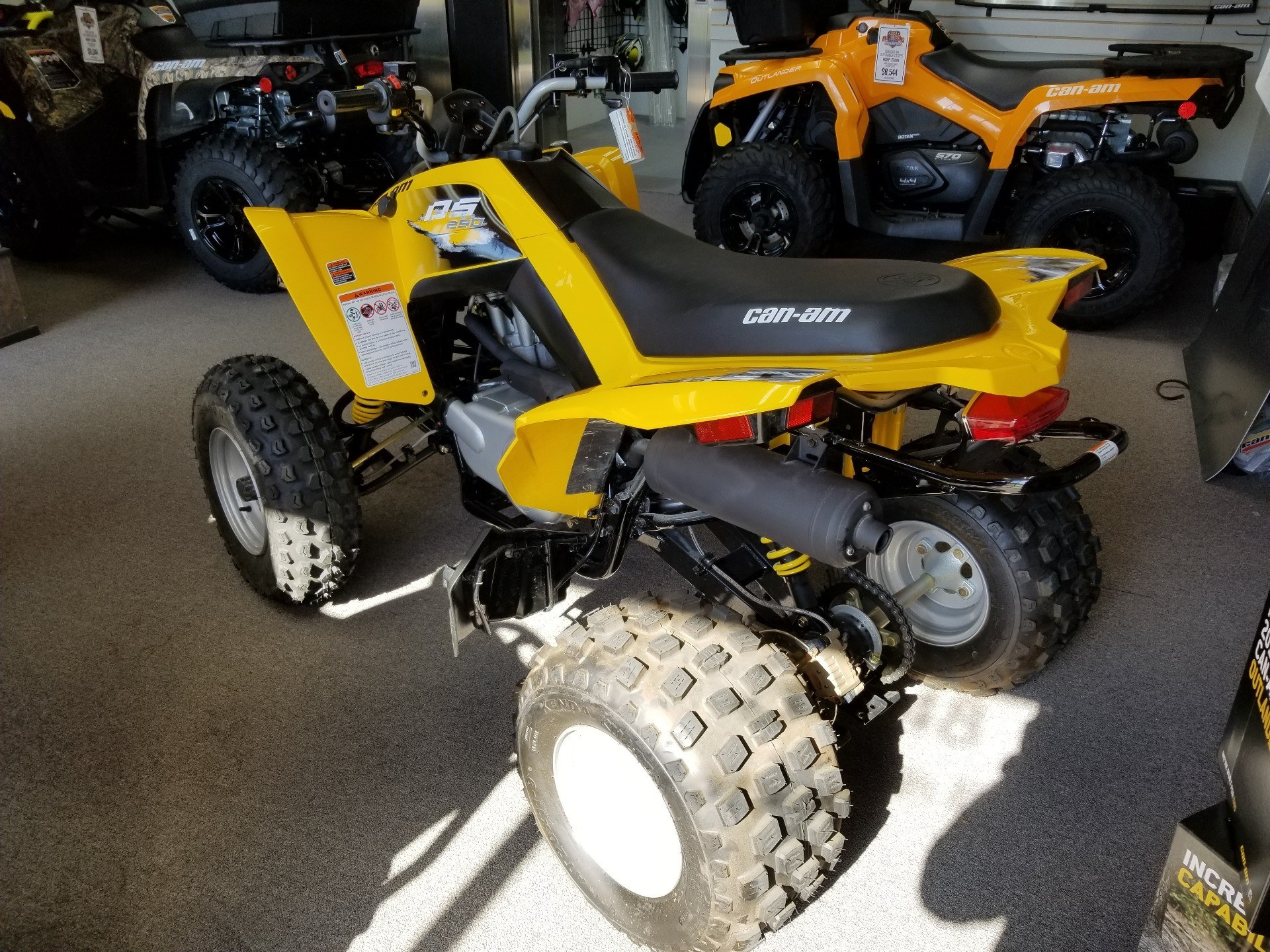 2019 Can-Am DS 250 in Mineral Wells, West Virginia - Photo 4