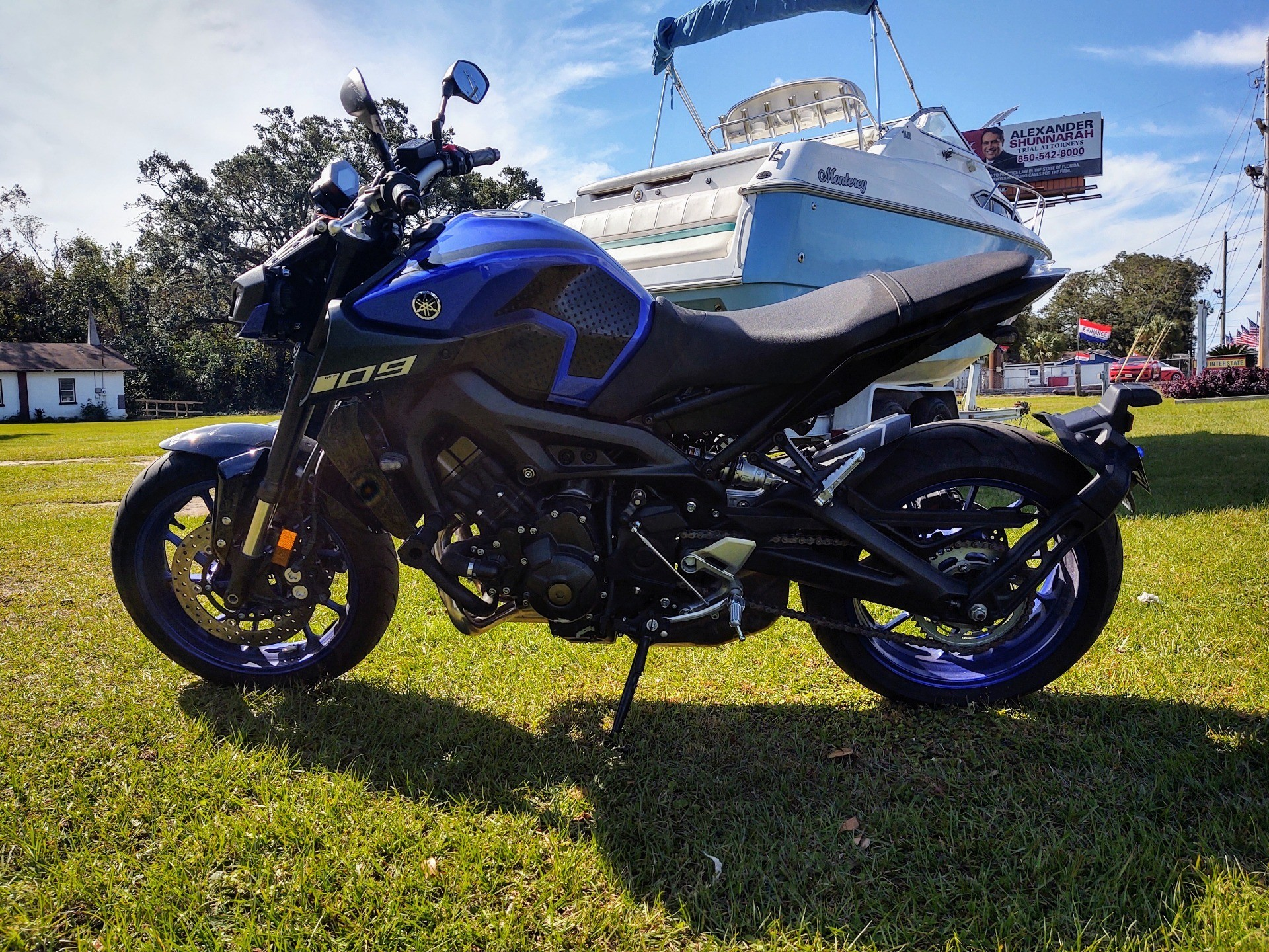 2019 Yamaha MT-09 in Pensacola, Florida - Photo 8