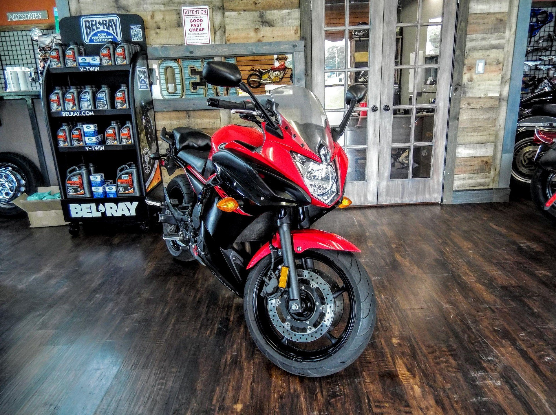 2015 Yamaha FZ6R in Pensacola, Florida - Photo 1