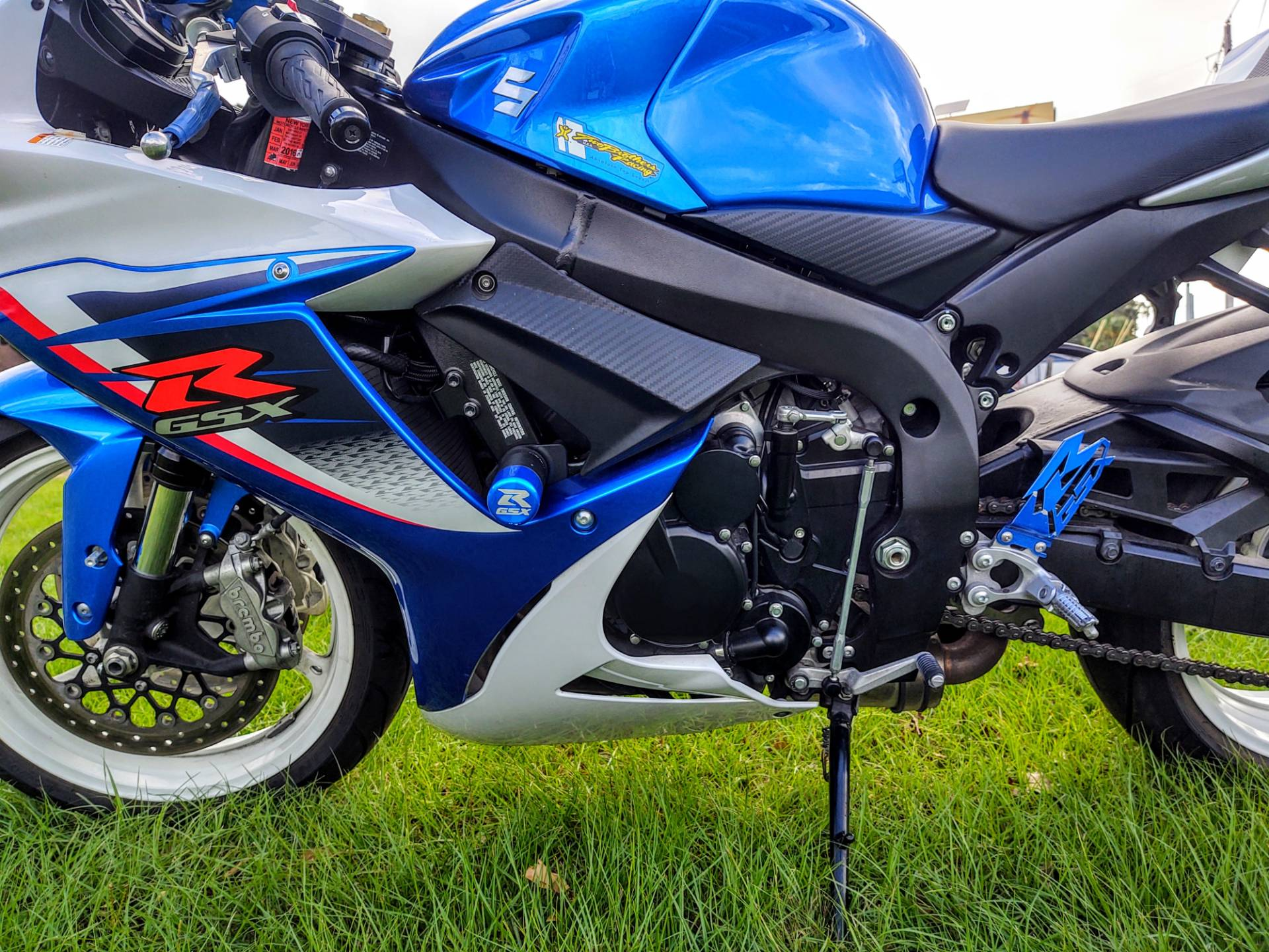2013 Suzuki GSX-R600™ in Pensacola, Florida - Photo 8