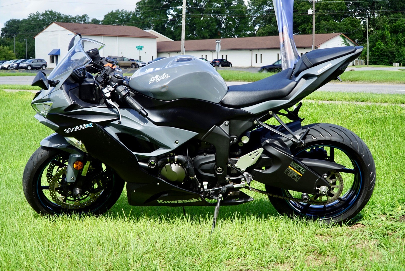 2019 Kawasaki Ninja ZX-6R ABS in Pensacola, Florida - Photo 4