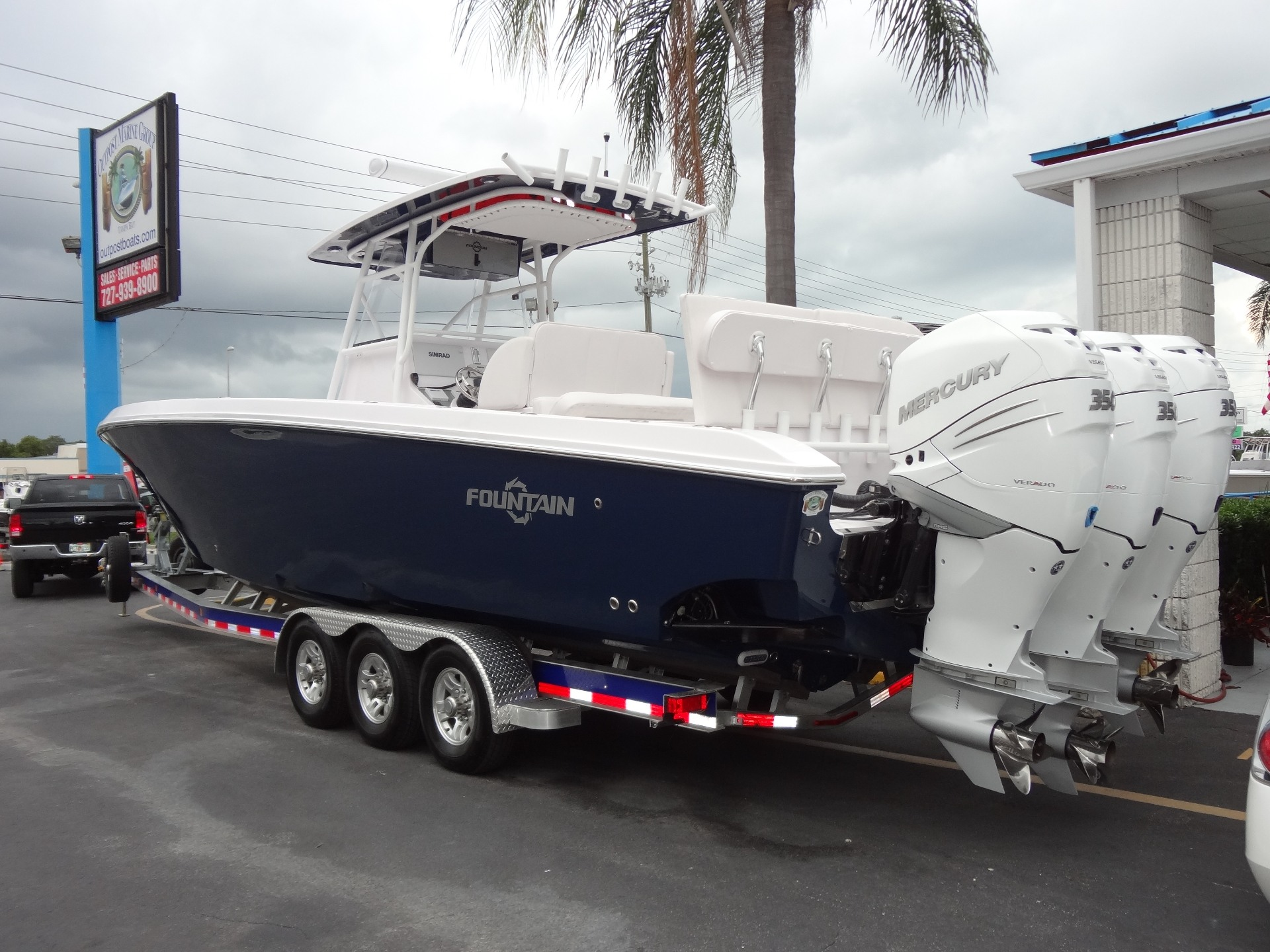 2016 Fountain 38 Luxury Edition in Holiday, Florida