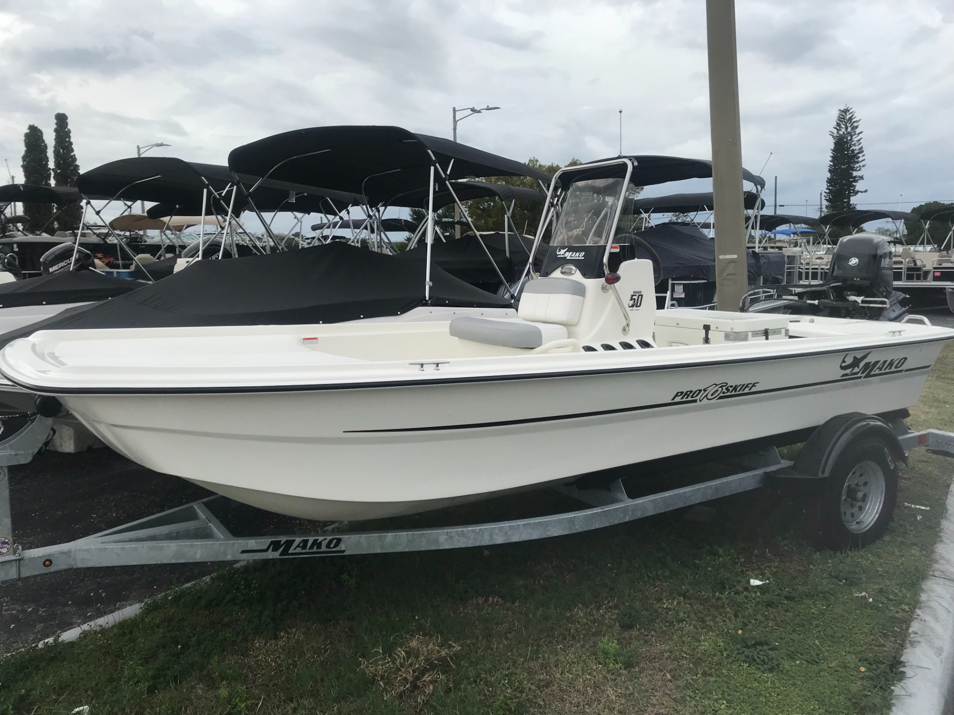 2018 Mako Skiff 16 CC in Holiday, Florida