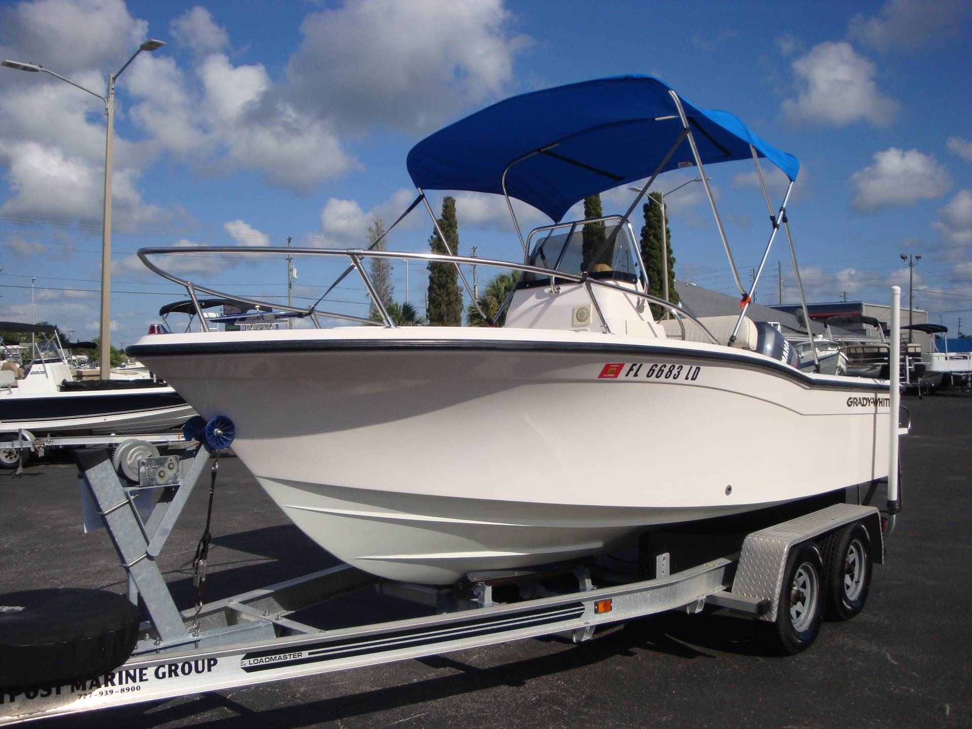 2000 Grady-White Sportsman 180 in Holiday, Florida - Photo 2