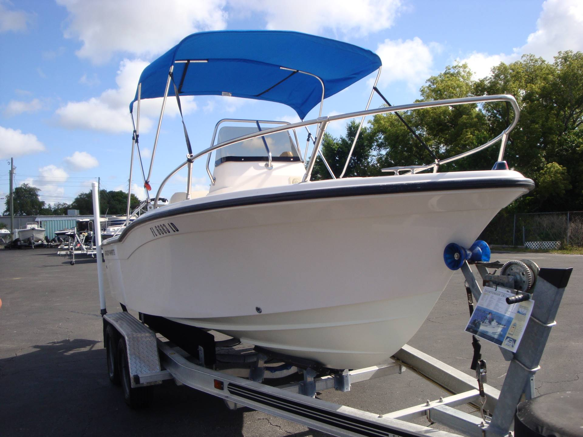 2000 Grady-White Sportsman 180 in Holiday, Florida - Photo 5