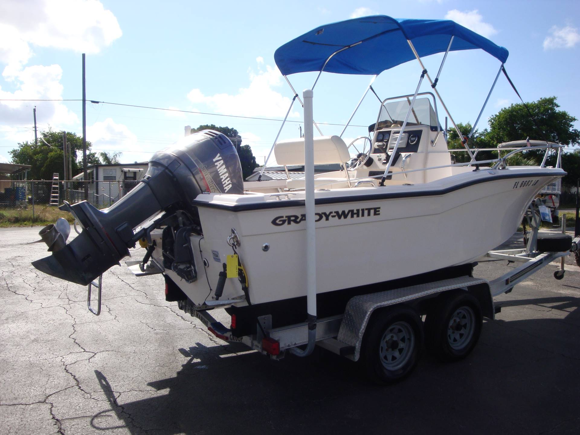 2000 Grady-White Sportsman 180 in Holiday, Florida - Photo 10