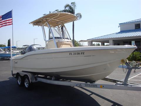2016 Scout Boats 210 XSF in Holiday, Florida